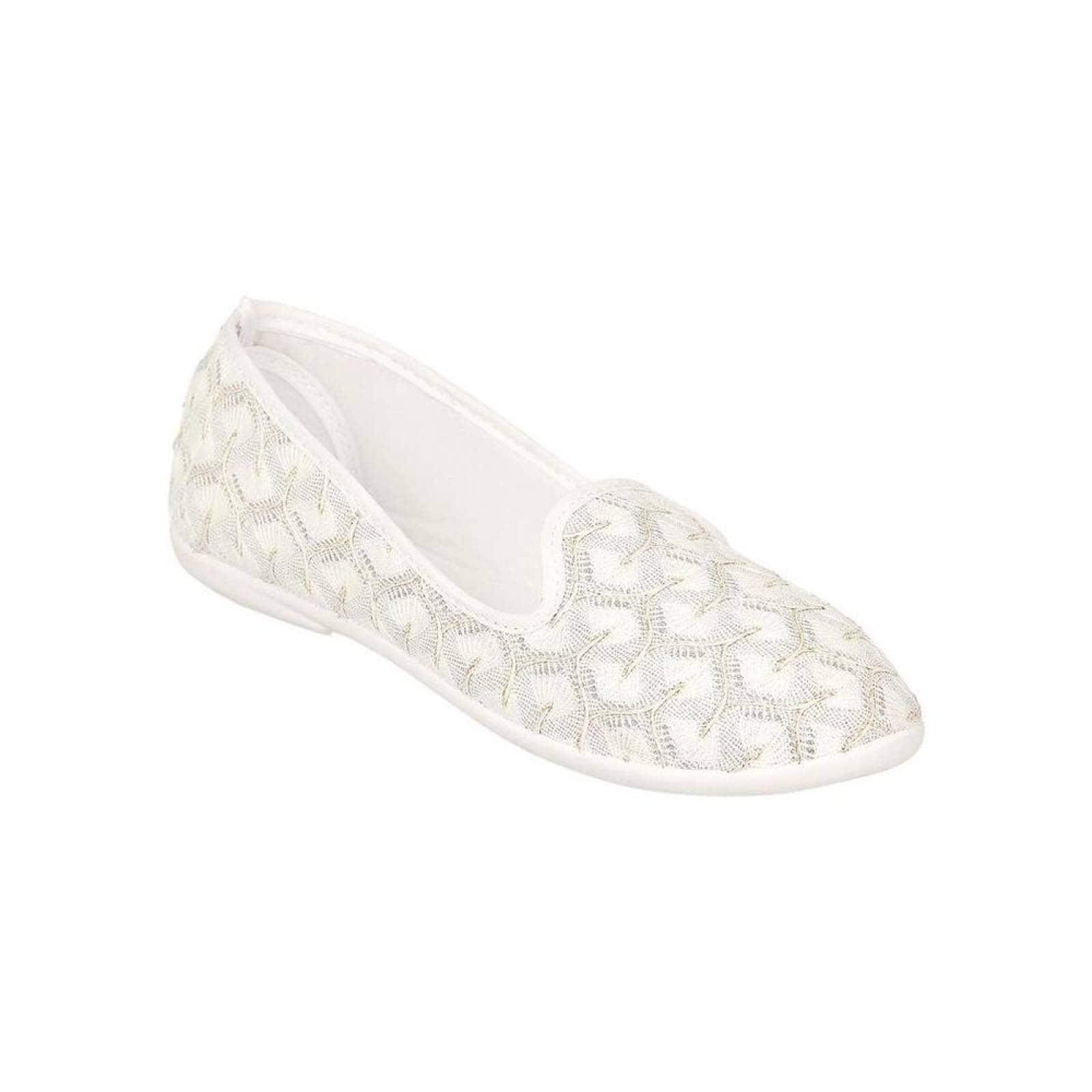 Zapato Cerrado Magic Shoes Mujer Beige Textil 850