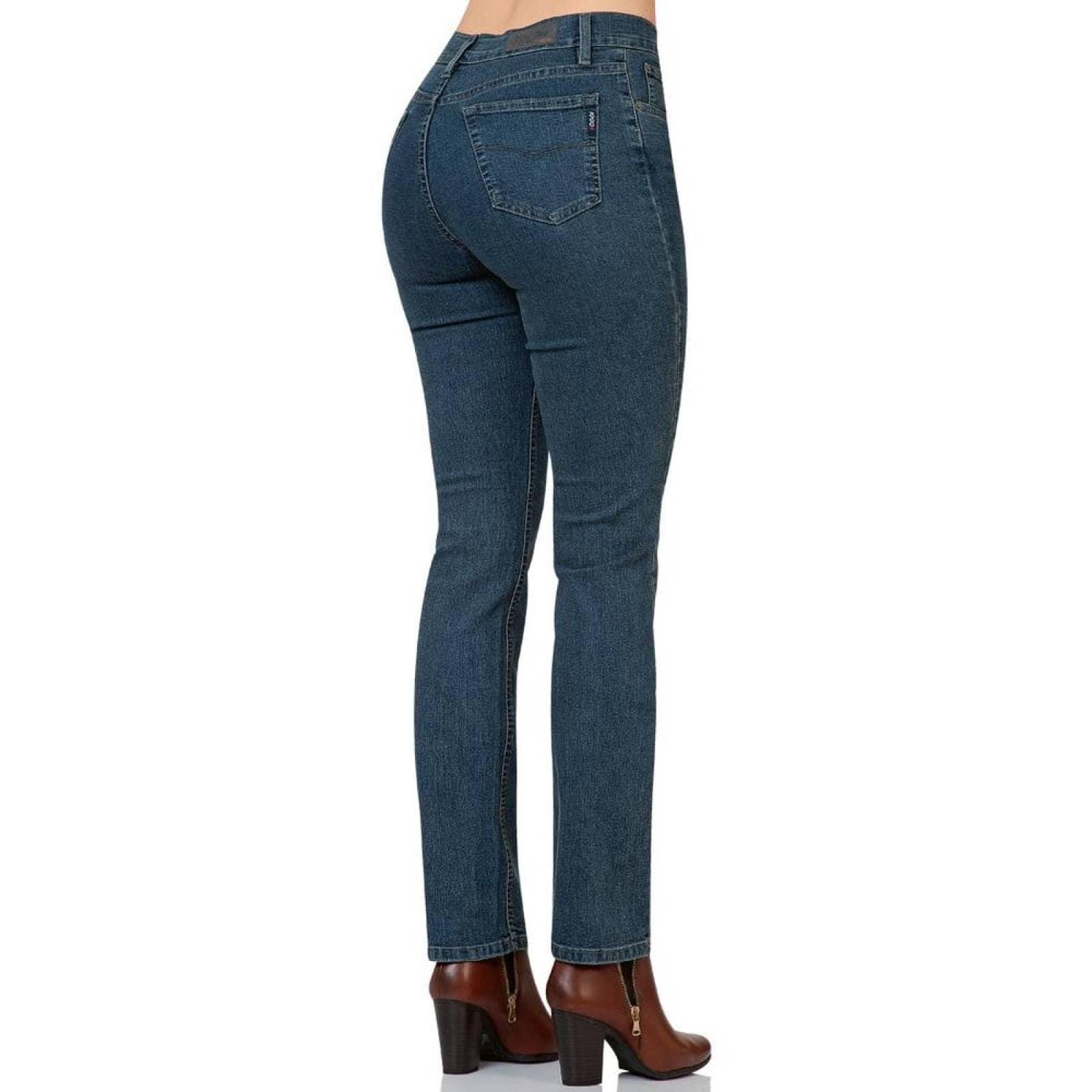 Jeans Oggi Jeans Mujer Slub Carbon Mezclilla Stretch Atraction