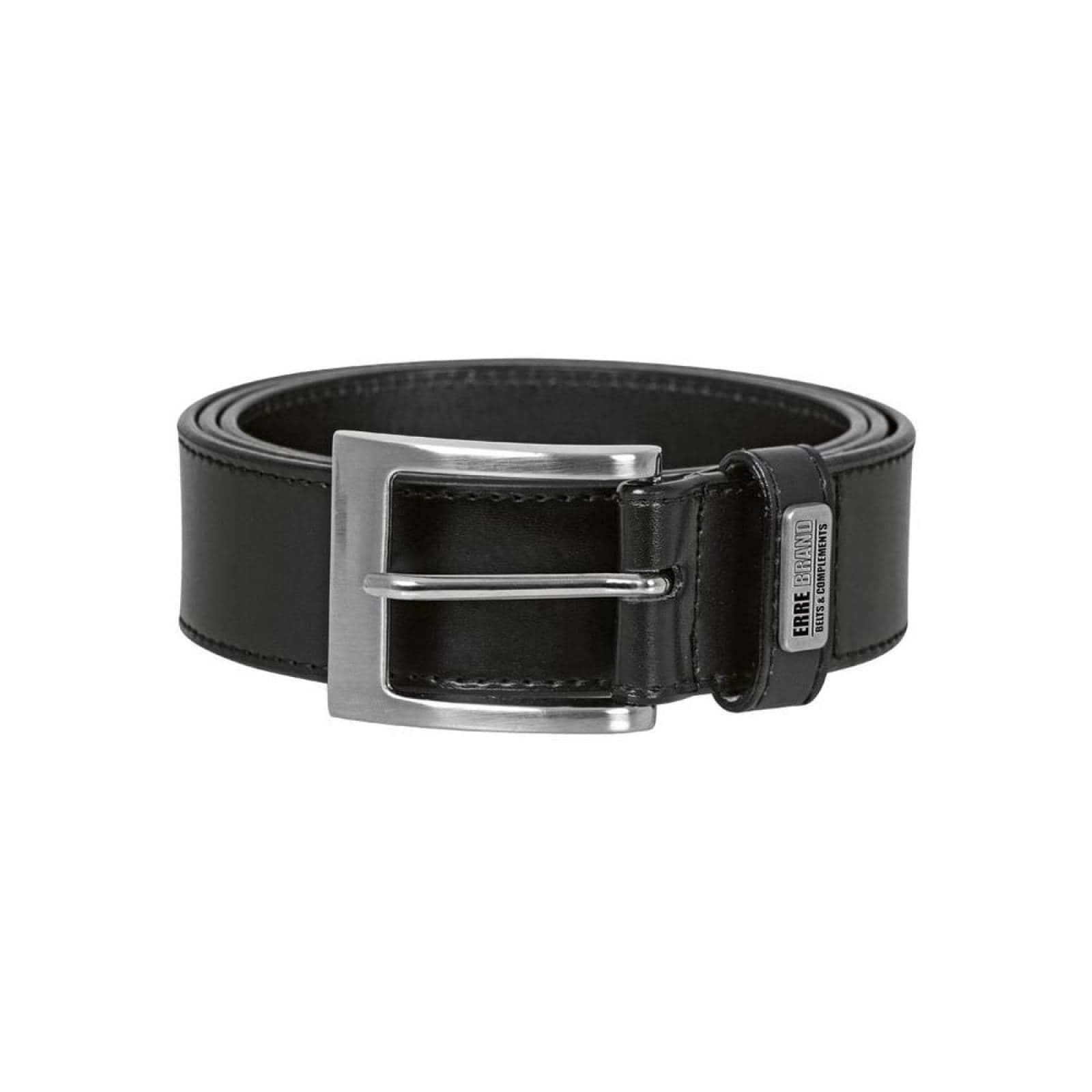 Cinturon Erre Unisex Negro Piel V2340Nopk2