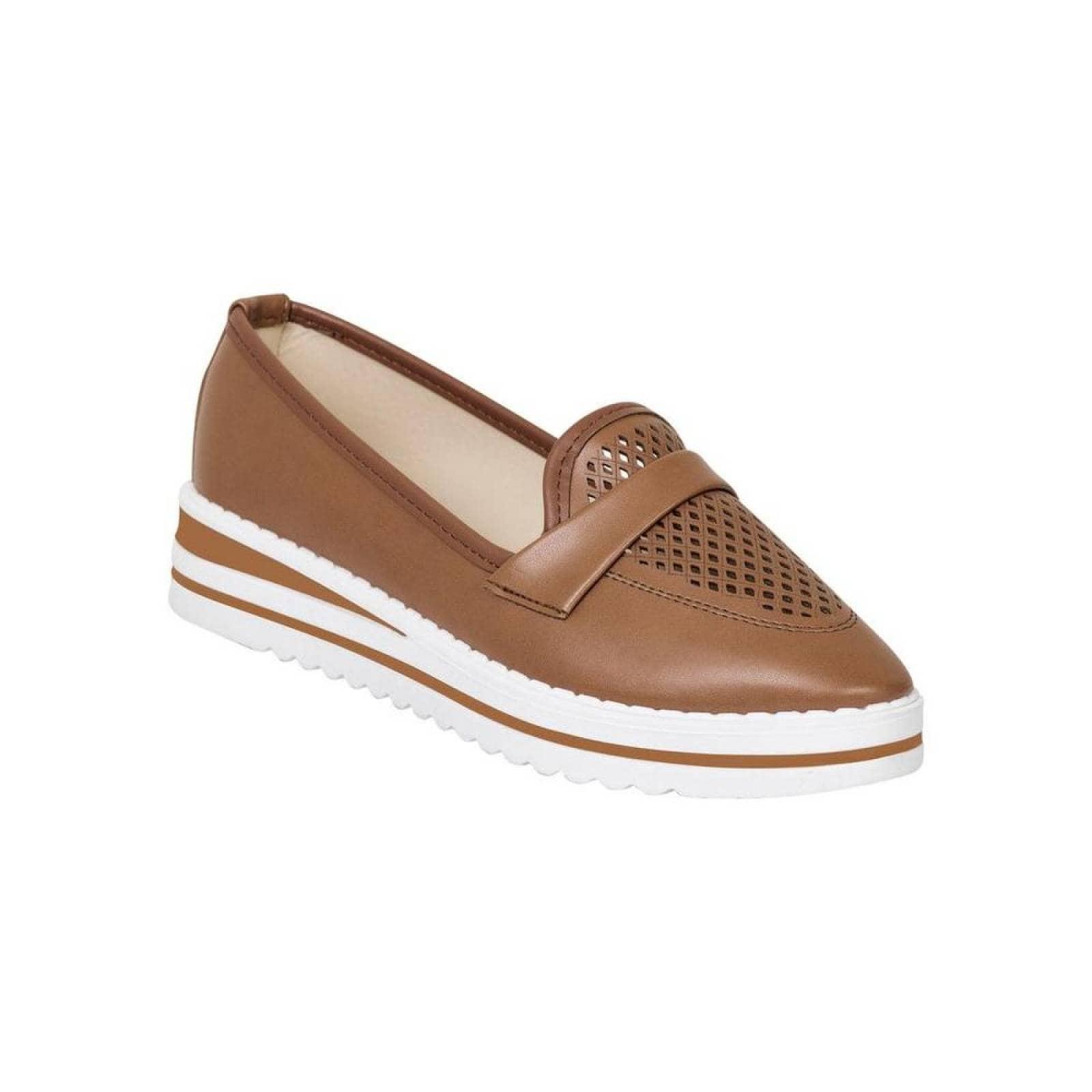 Zapato Cerrado Ivi Love Mujer Cafe Tipo Napa 4001