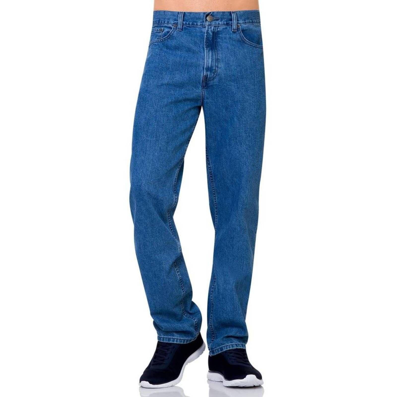 Jeans Oggi Jeans Hombre Azul Mezclilla Power