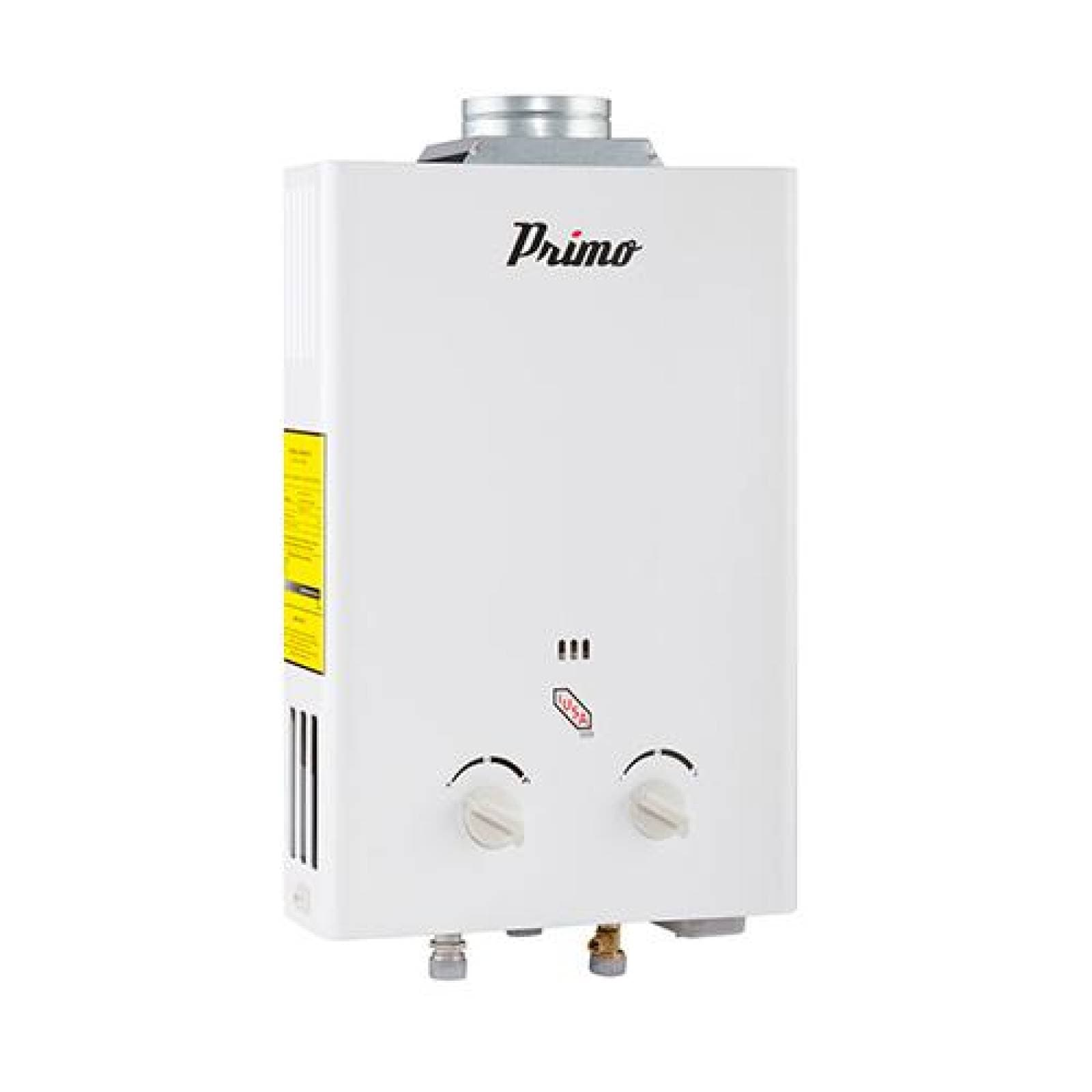 Calentador instantáneo Primo 6 l para gas natural