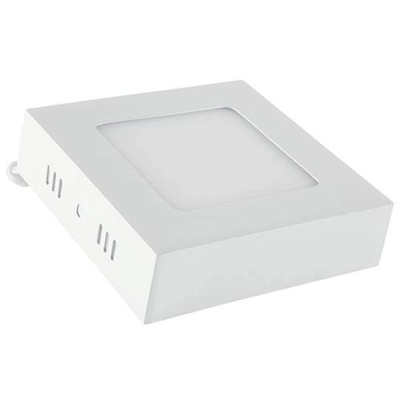 Lámpara LED cuadrada para sobreponer 6 W
