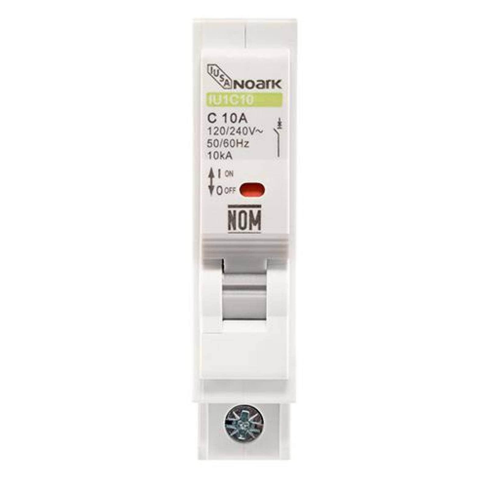 Interruptor termomagnético 1 polo 20 A Caja 12 pzas