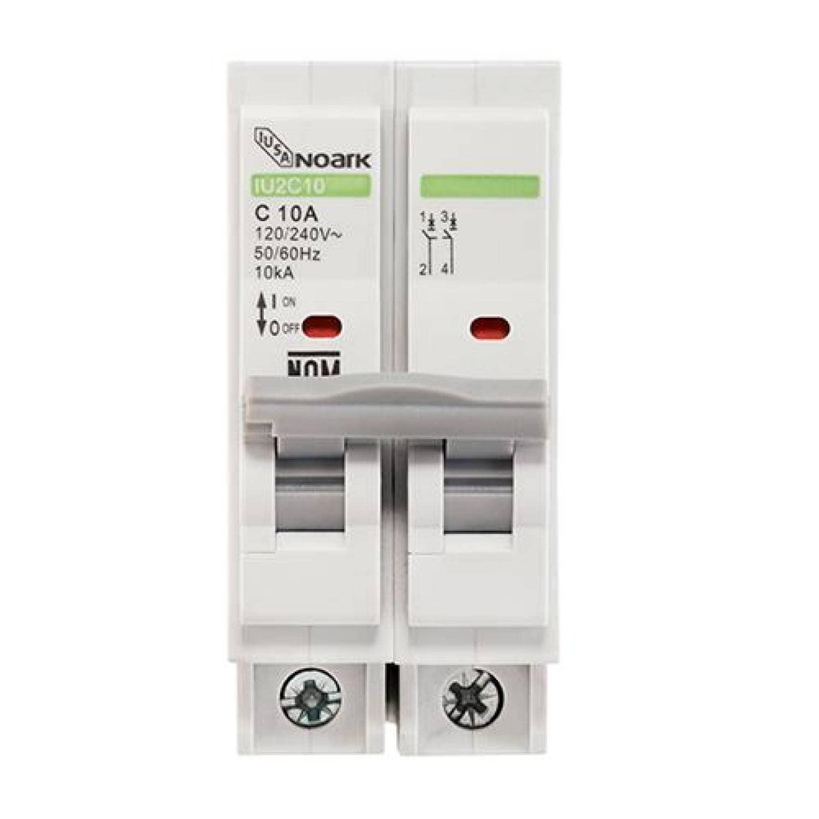 Interruptor termomagnético 2 polos 60 A