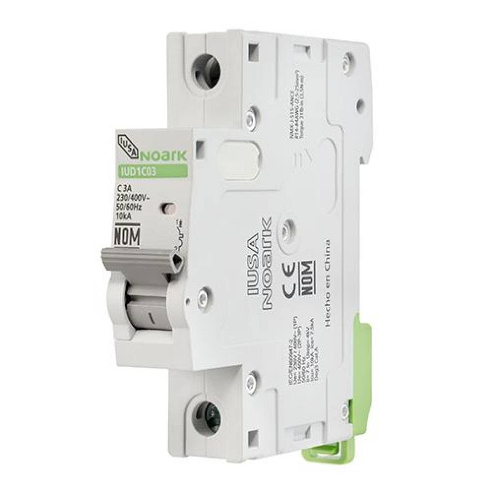 Interruptor termomagnético DIN 1 polo 6 A