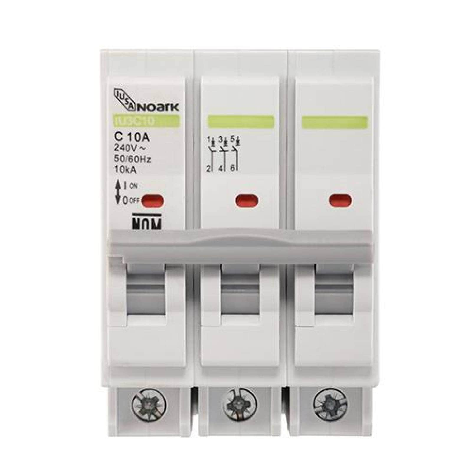 Interruptor termomagnético 3 polos 15 A