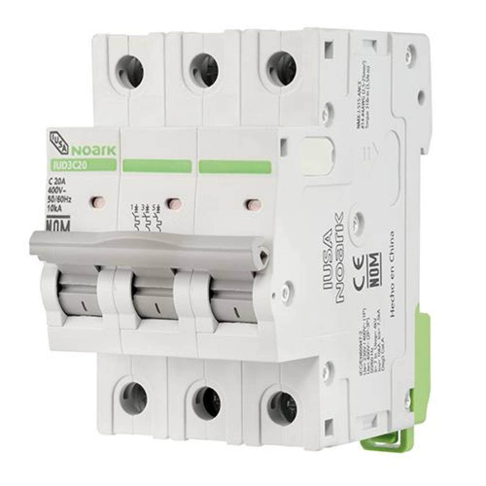 Interruptor termomagnético DIN 3 polos 40 A