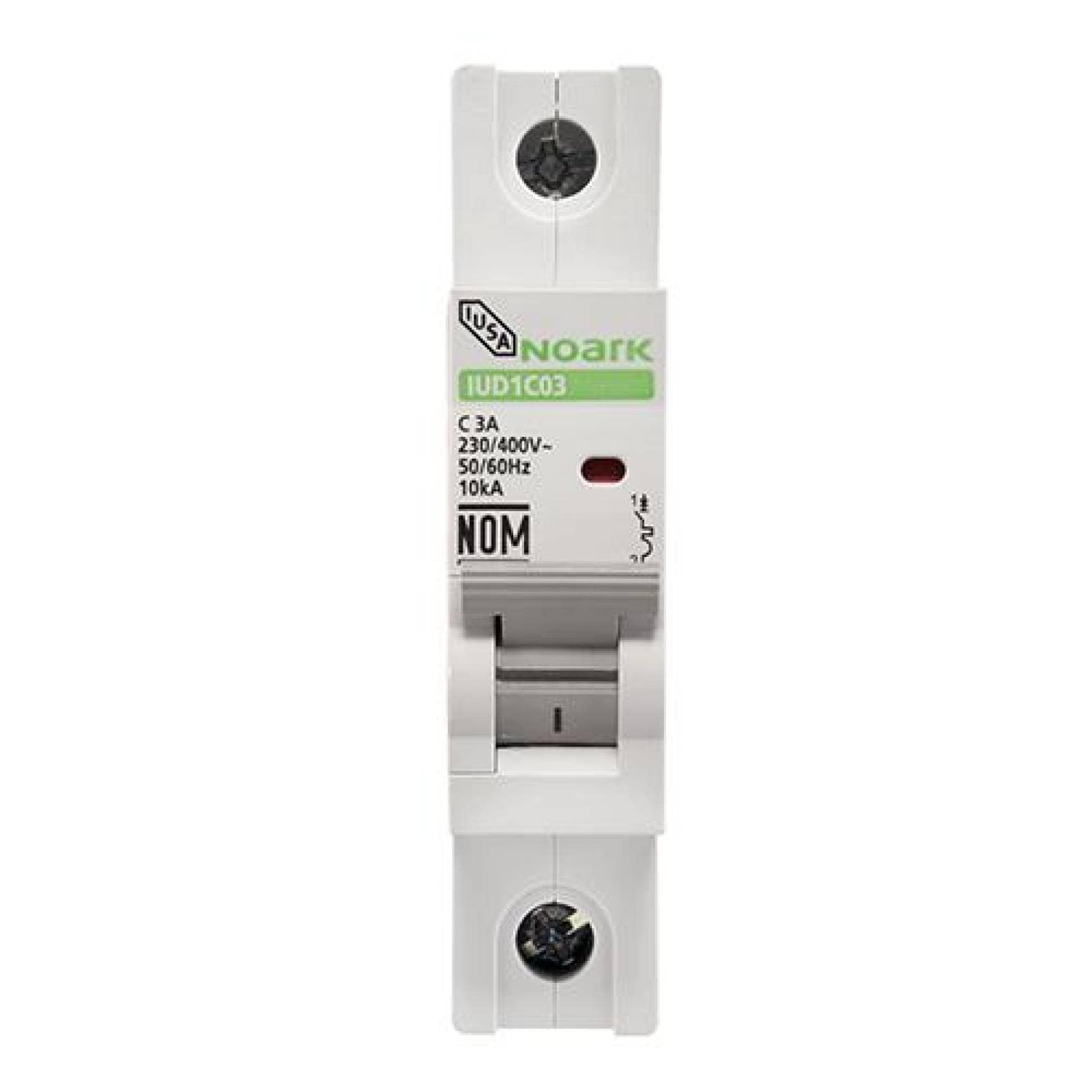 Interruptor termomagnético DIN 1 polo 63 A