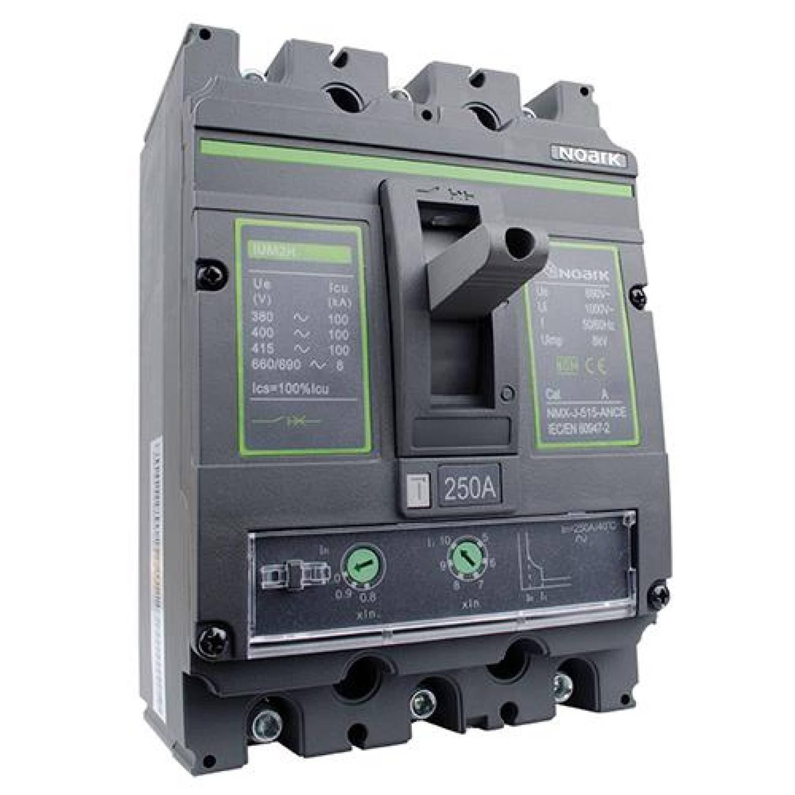 Interruptor termomagnético 3 polos 350 Amp