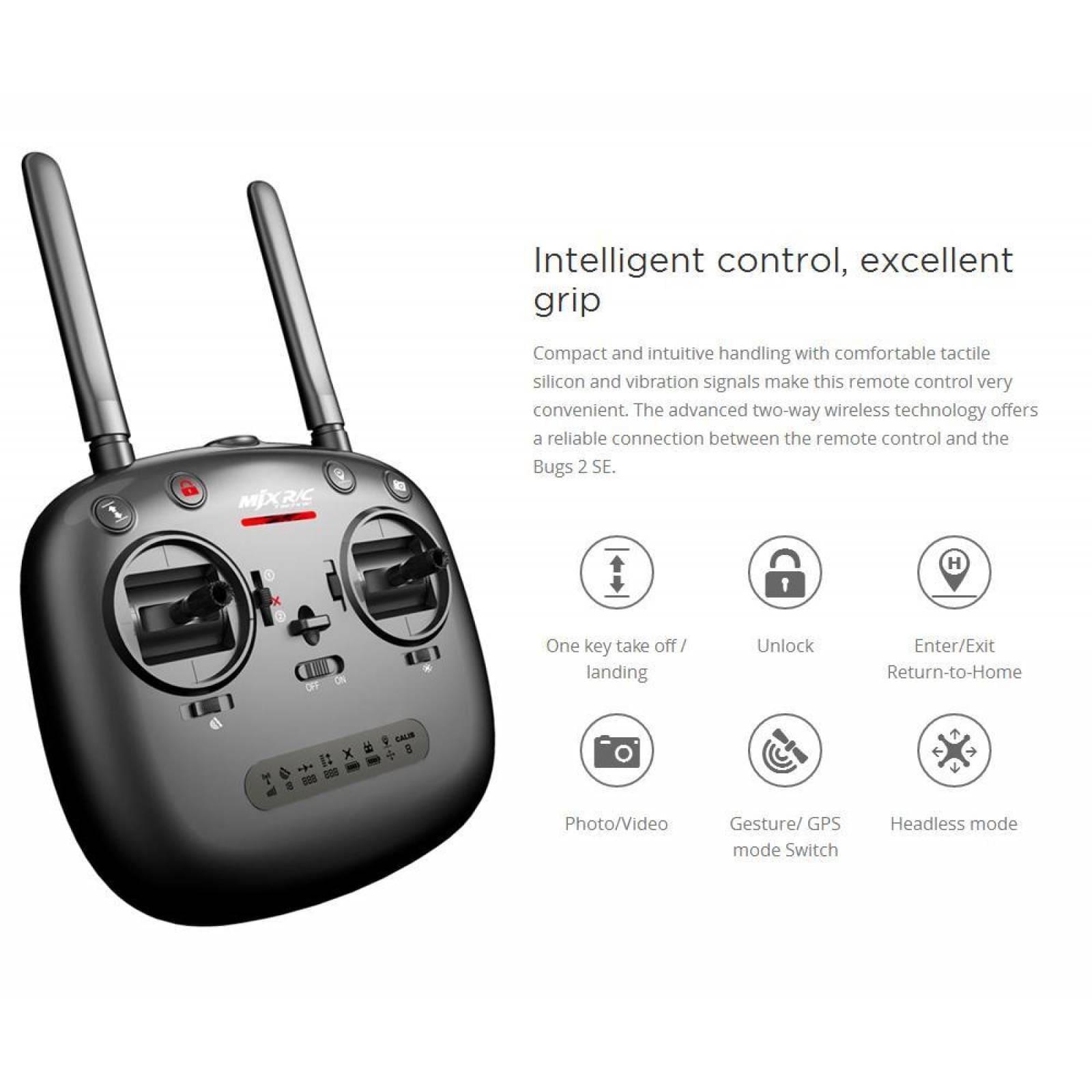 Drone Bugs B2SE con GPS Cámara 5G y 18 Min de Vuelo