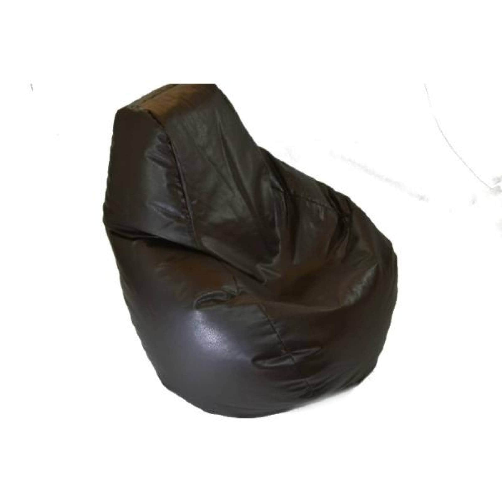 Puff Tipo Pera Mediano Económico Chocolate Lunics