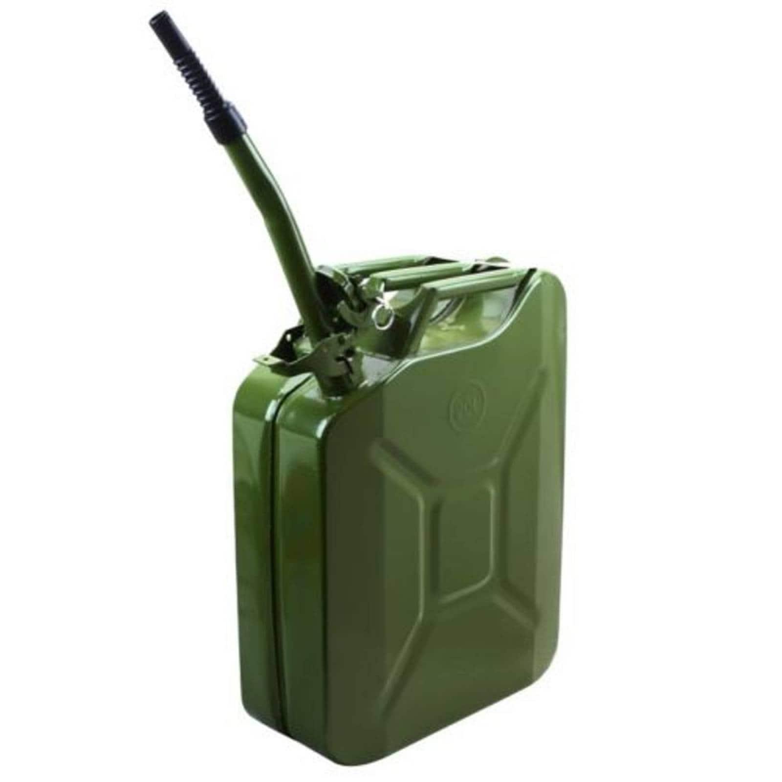 Tanque   Bidon 20 L Gasolina Metalico Verde 20001