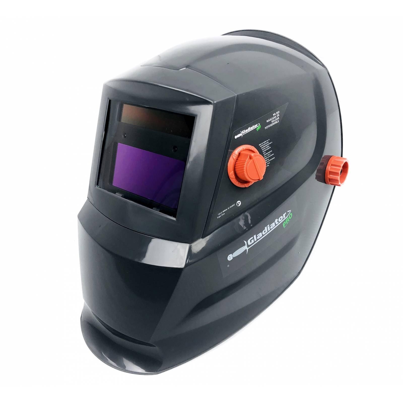 Careta Para Soldar Fotosensible GLADIADOR Ms801 93x43