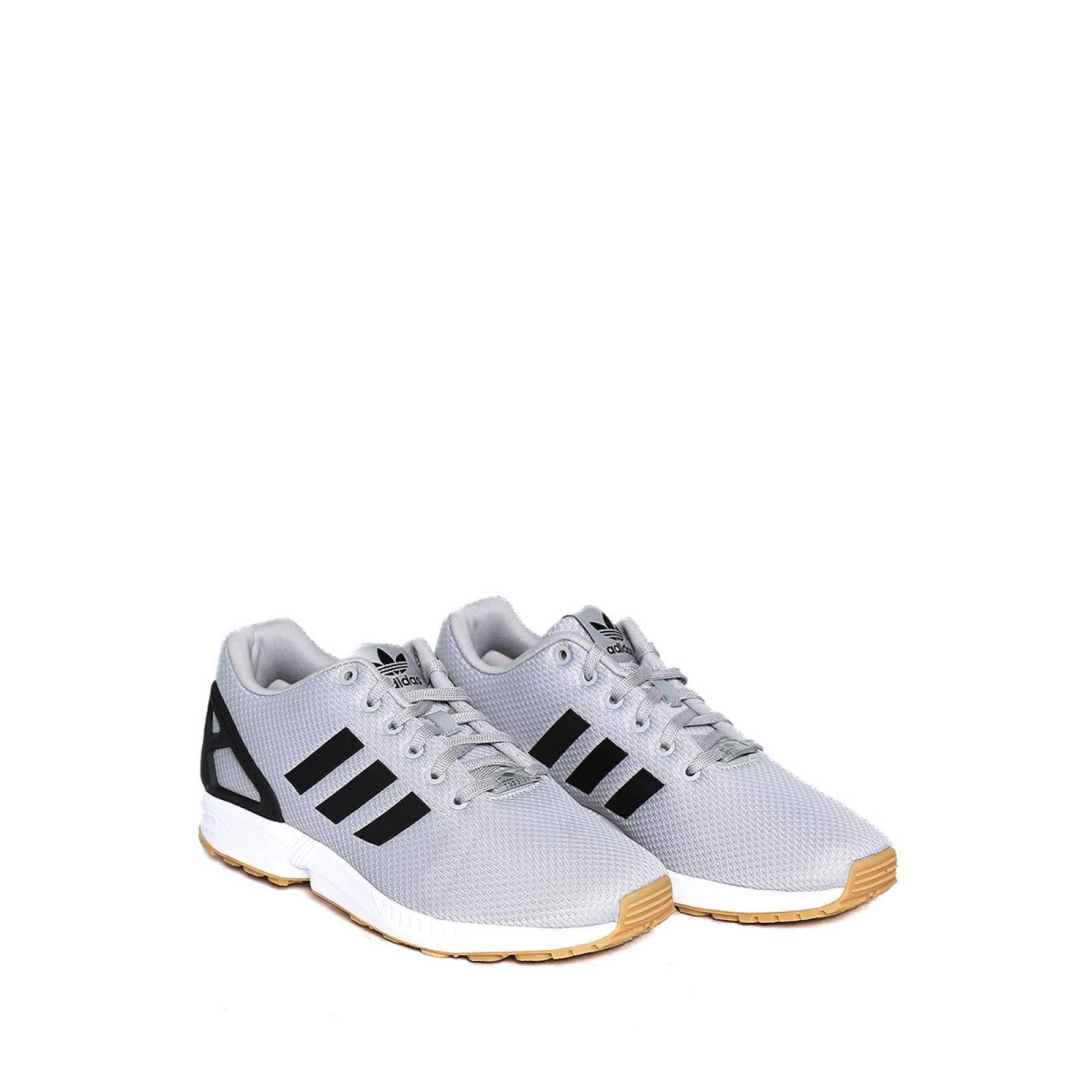 Tenis Grises Adidas Originals Zx Flux by Adidas