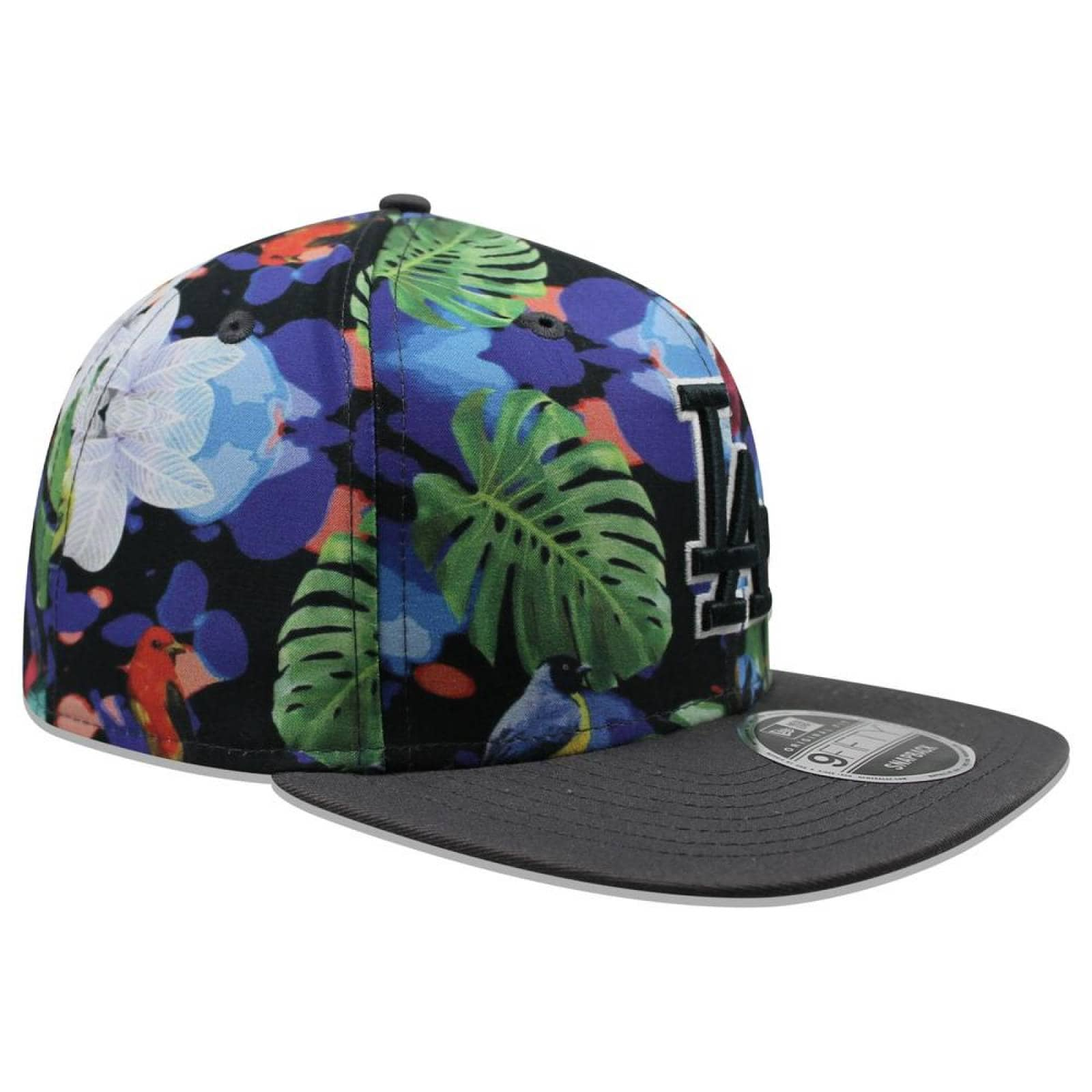 Gorra New Era 9 Fifty MLB Dodgers Flora Negro