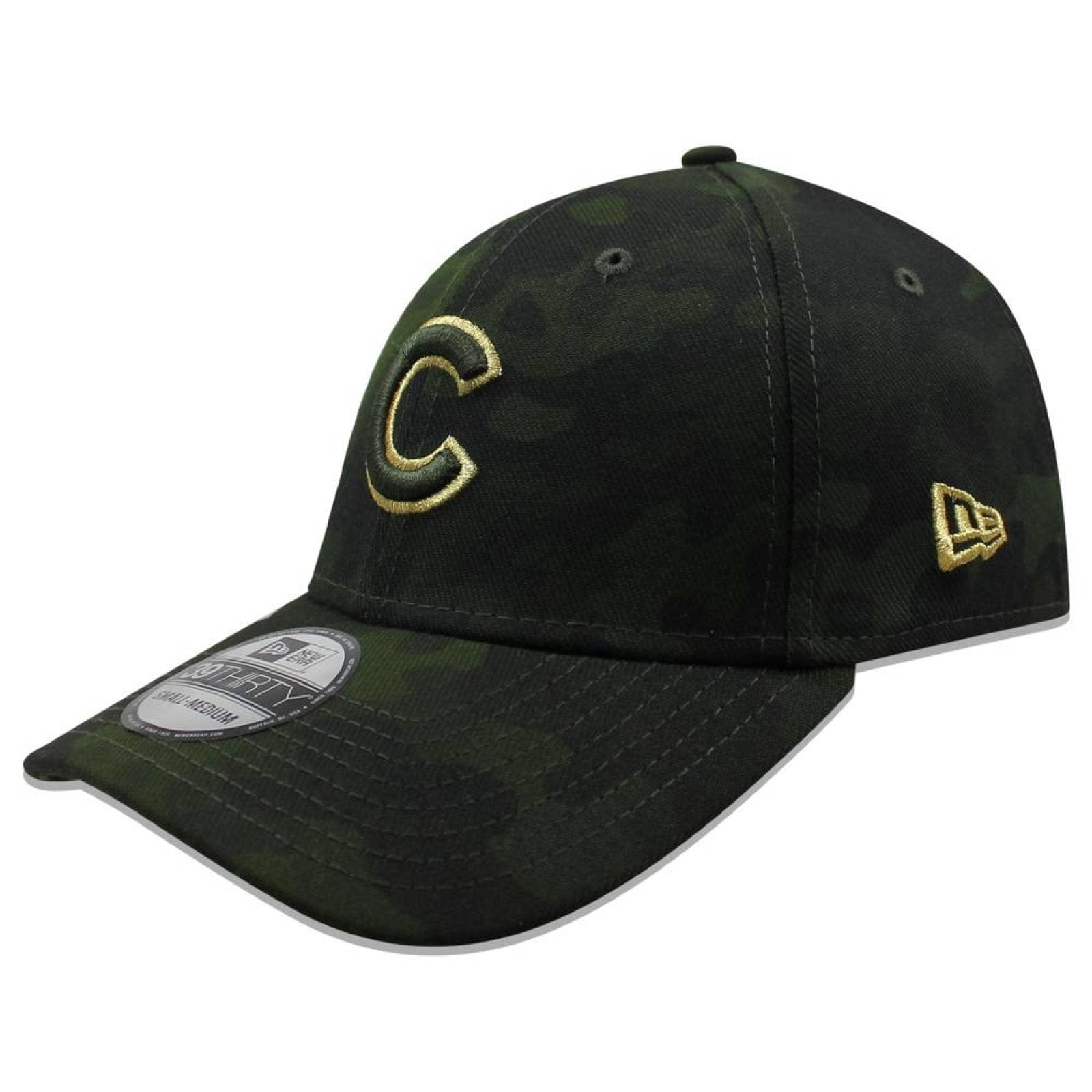 Gorra New Era 39 Thirty MLB Cubs Armed Forces Day Camo