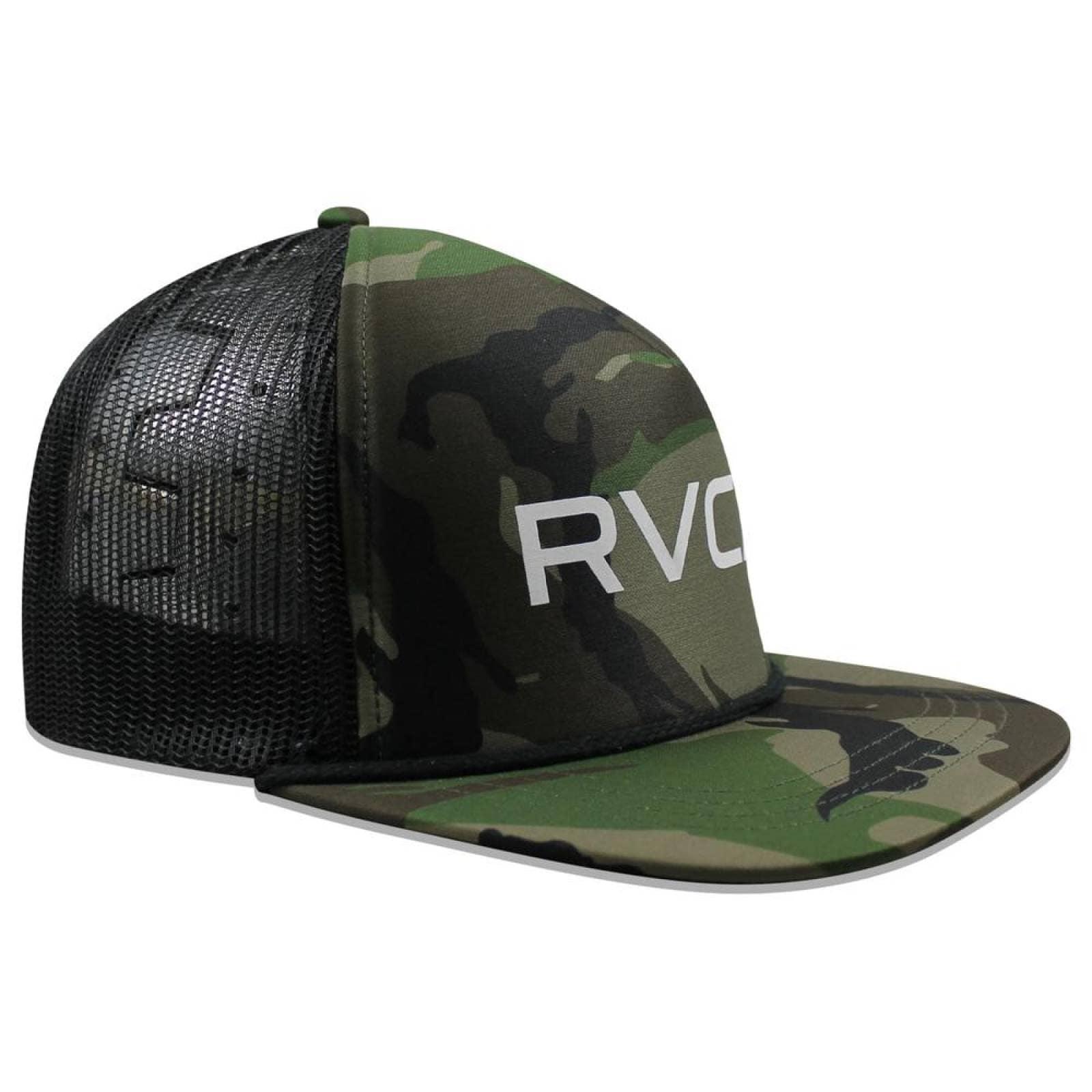 Gorra RVCA Snapback Trucker Camo Verde