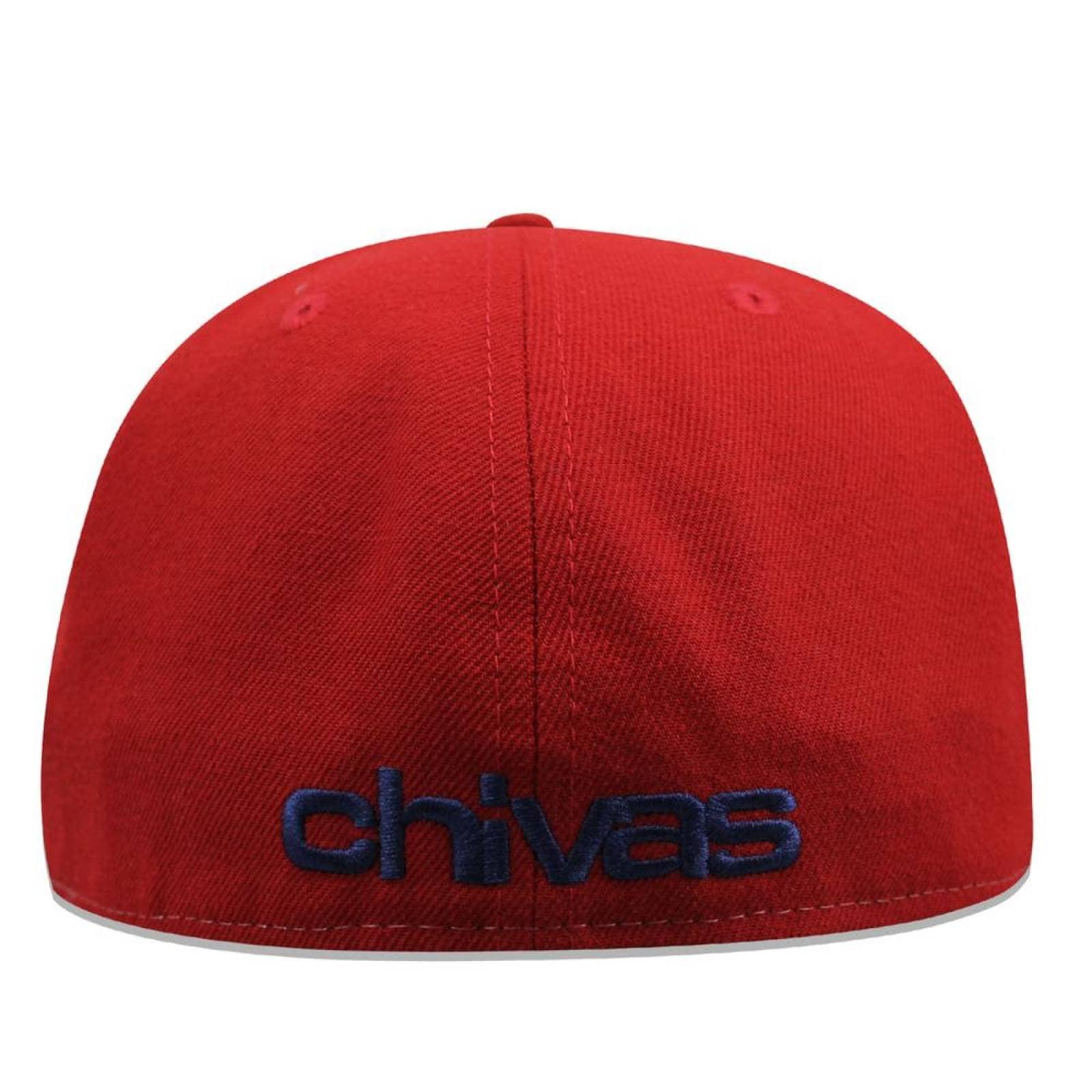 Gorra New Era 59 Fifty LMX Club GDL Front Chivas Rojo