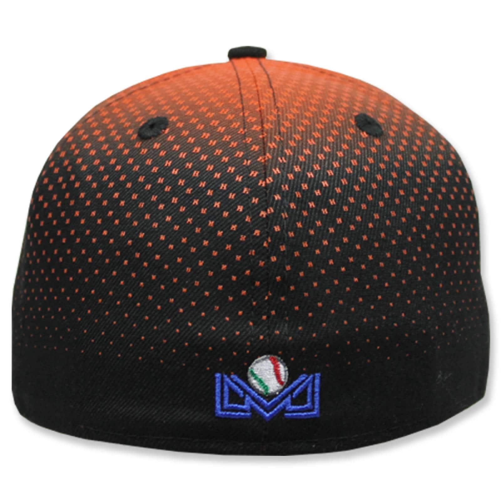 Gorra New Era 5950 Degraded Game Cap Naranjeros Black