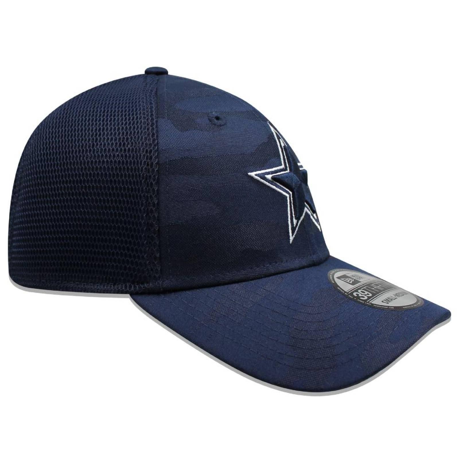 Gorra New Era 39 Thirty NFL Cowboys Camo Front Azul Marino