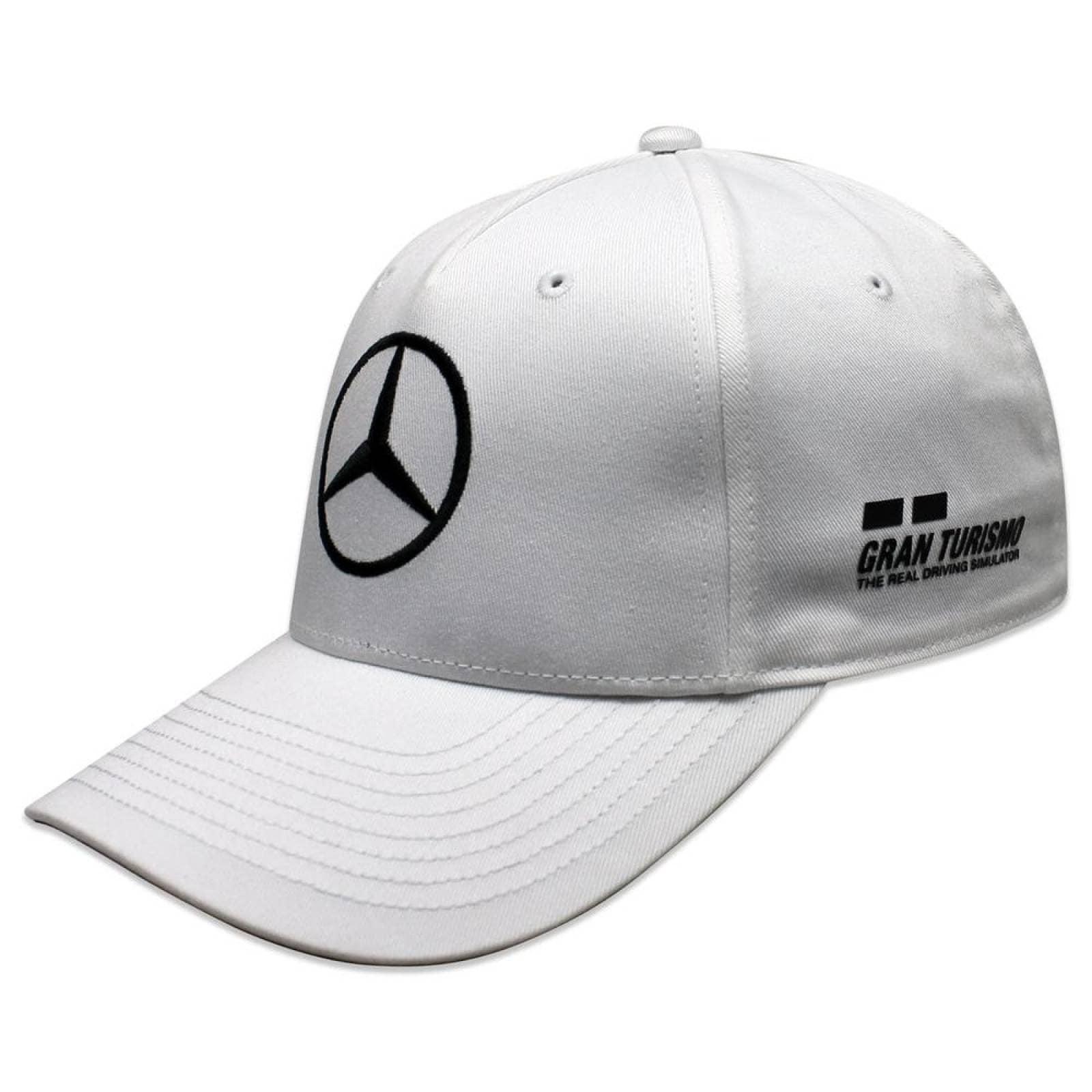 Gorra F1 Mercedes Benz Lewis Hamilton Drivers Blanco