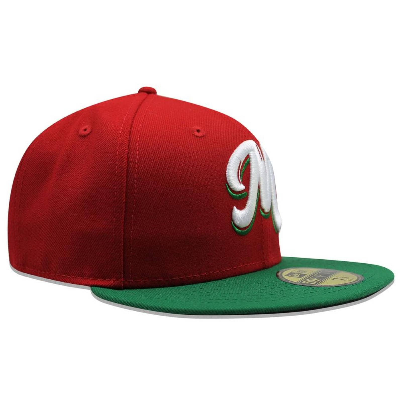 Gorra New Era 5950 LMP México Scarlet Green Vize Game Rojo