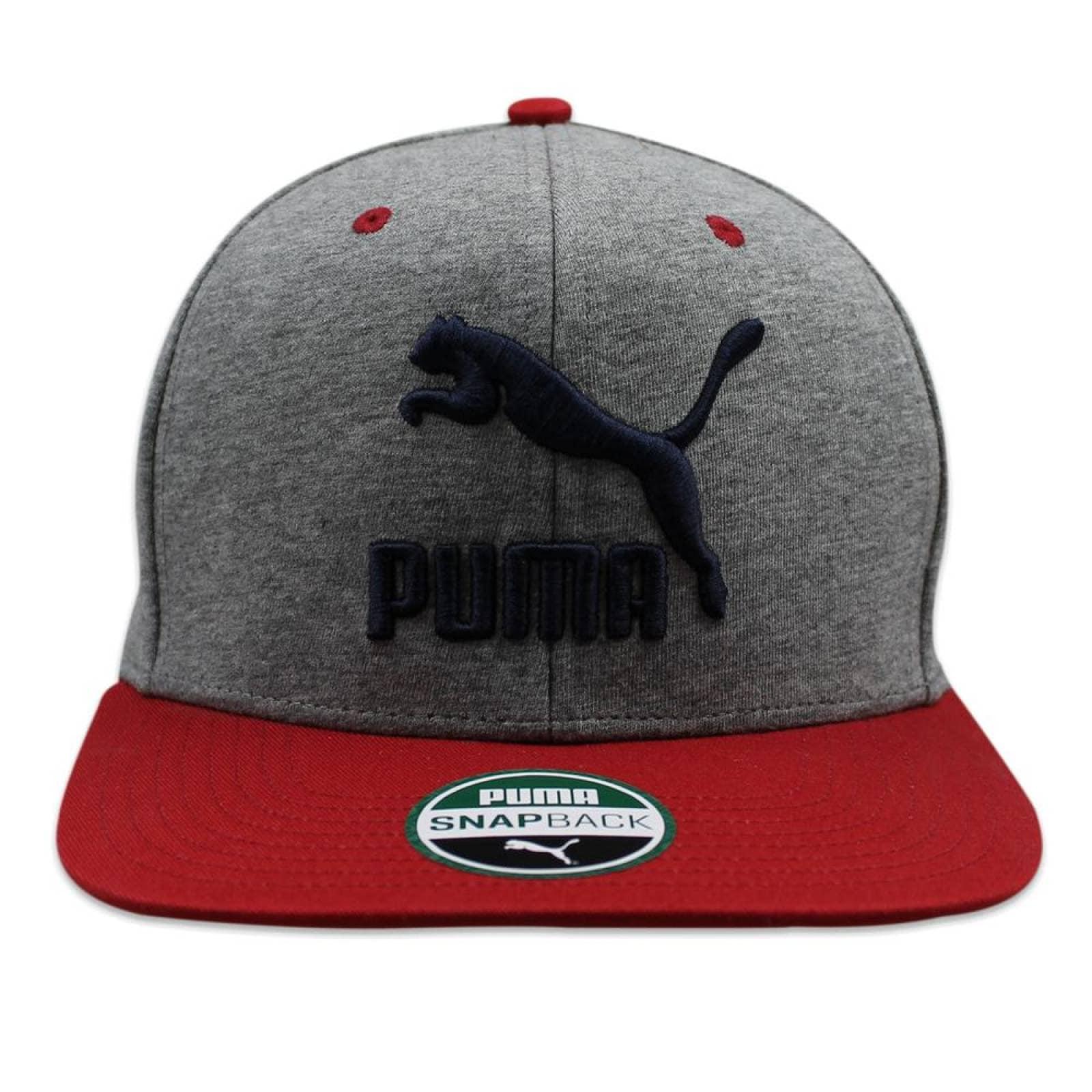 Gorra Puma Snapback Block Gris
