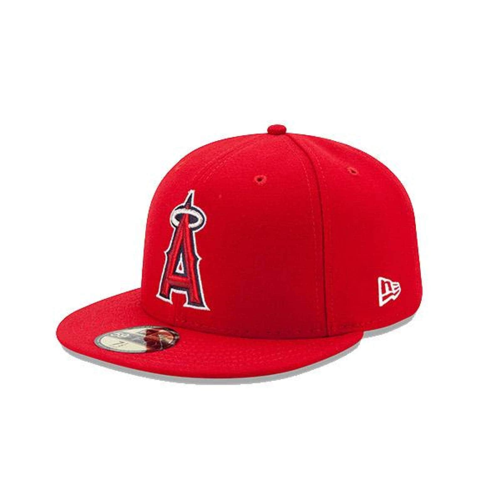 Gorra New Era 5950 MLB Los Angels Game Roja