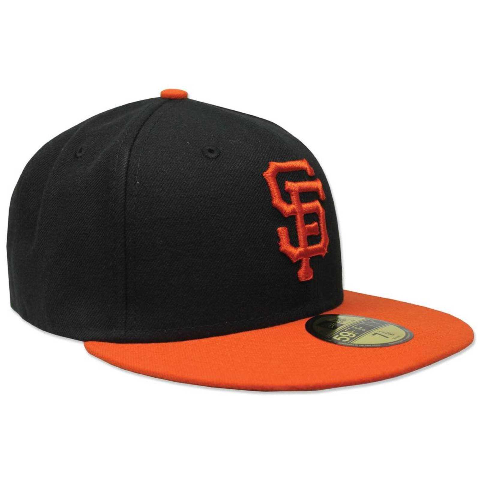 Gorra New Era 5950 Ac Perf Giants Negro Naranja