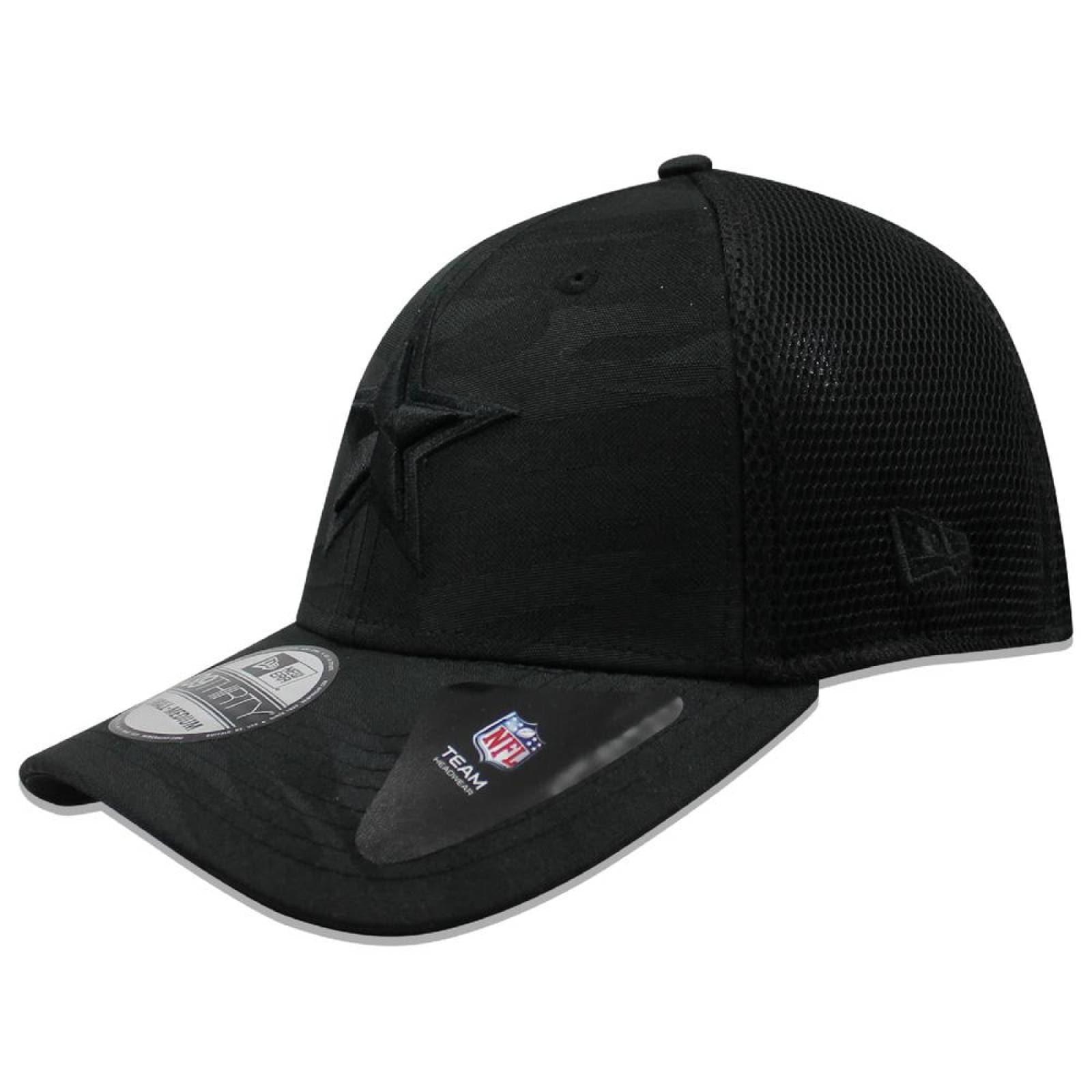 Gorra New Era 39 Thirty NFL Cowboys Camo Front Negro