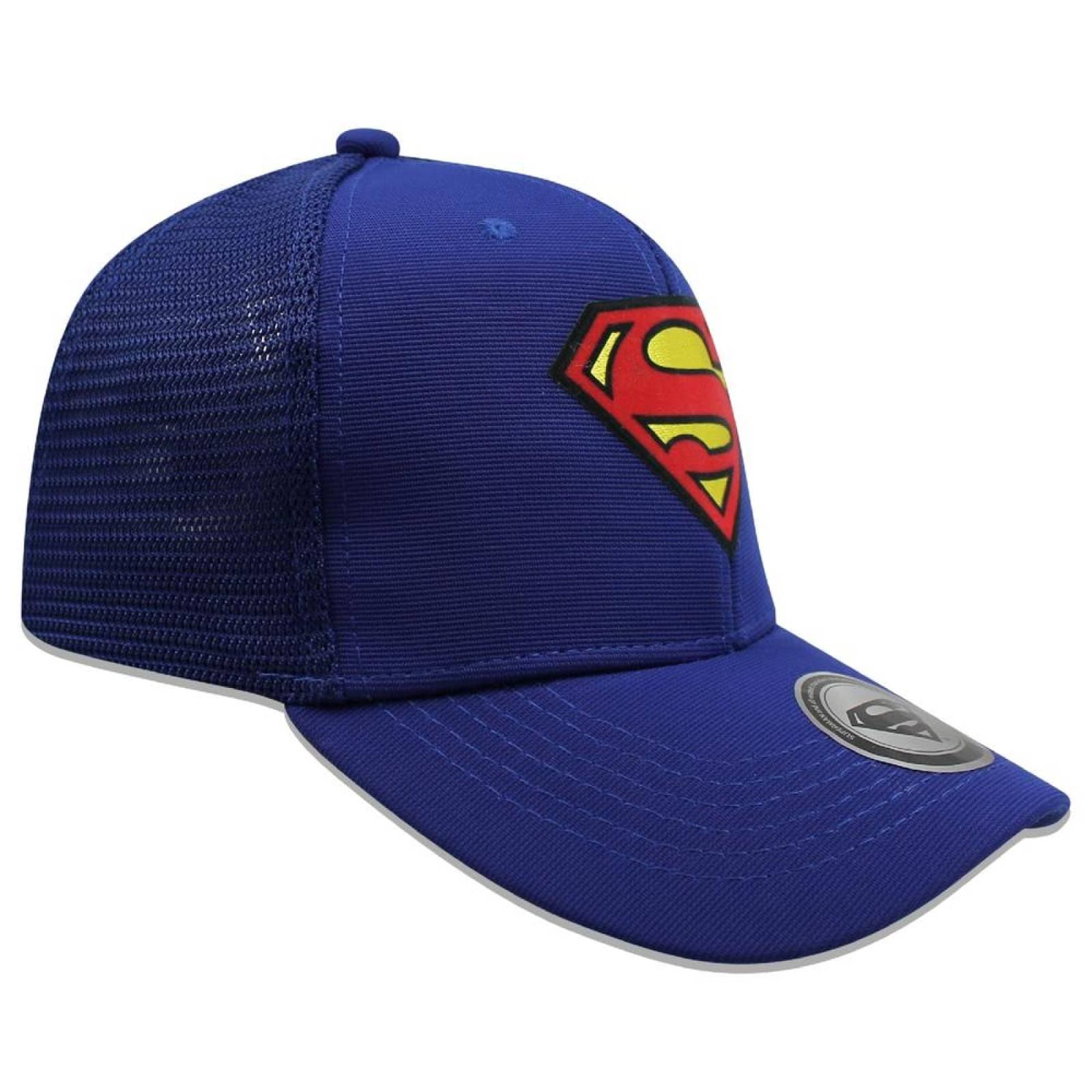 Gorra DADIVIT Superman Trucker Azul