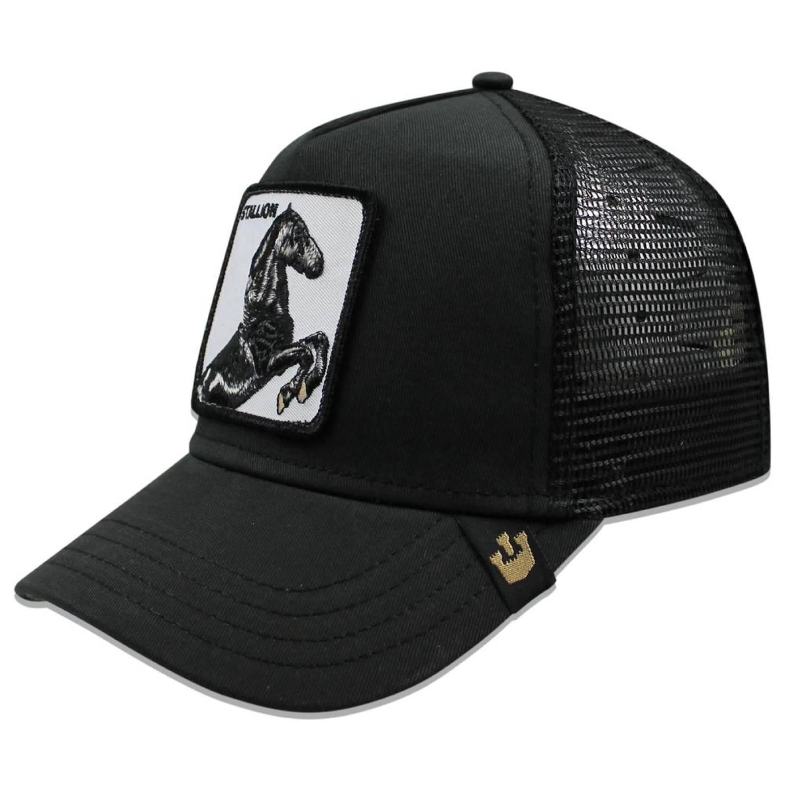 Gorra Goorin Bros Trucker Stallion Negro