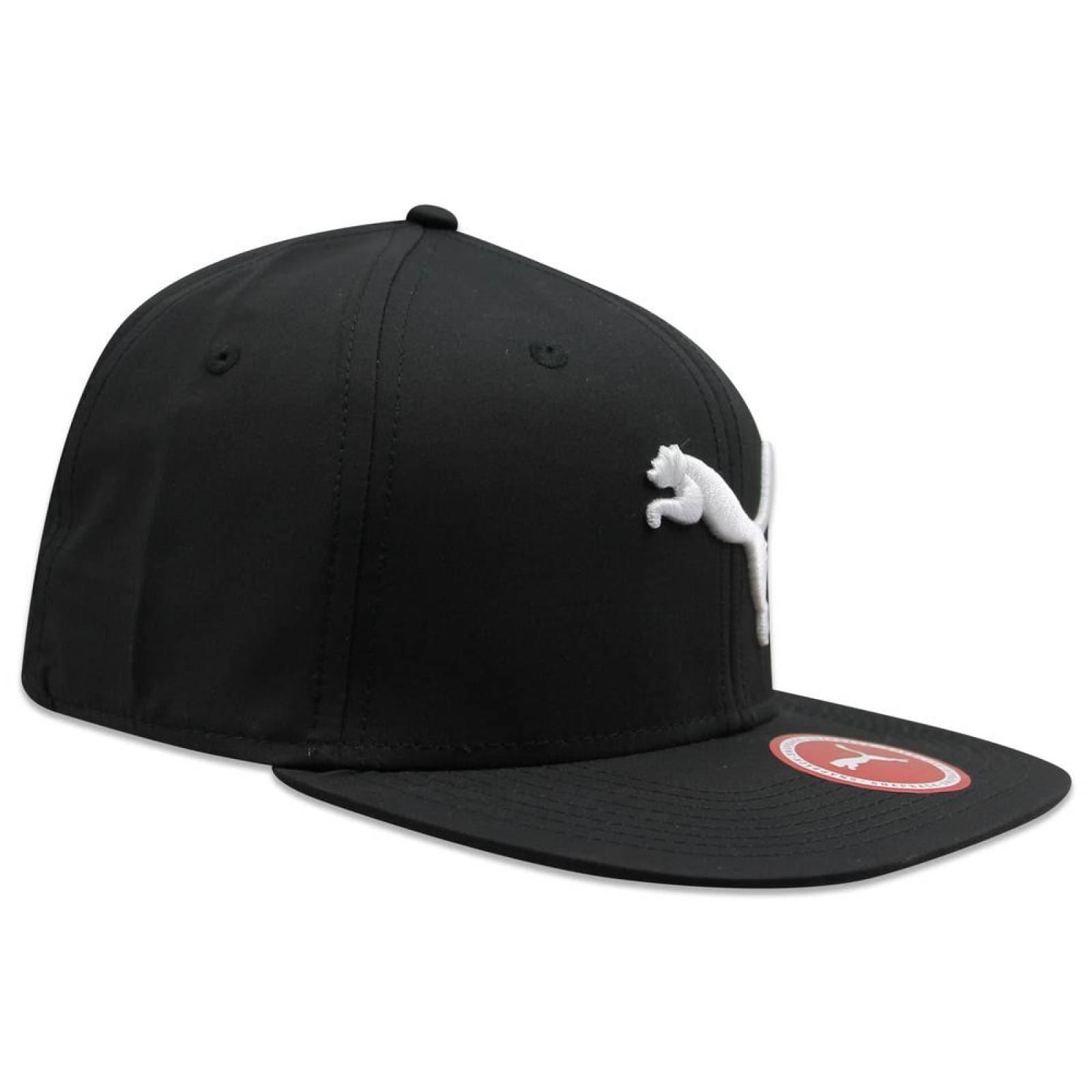 Gorra Puma Snapback Flatbrim Negro