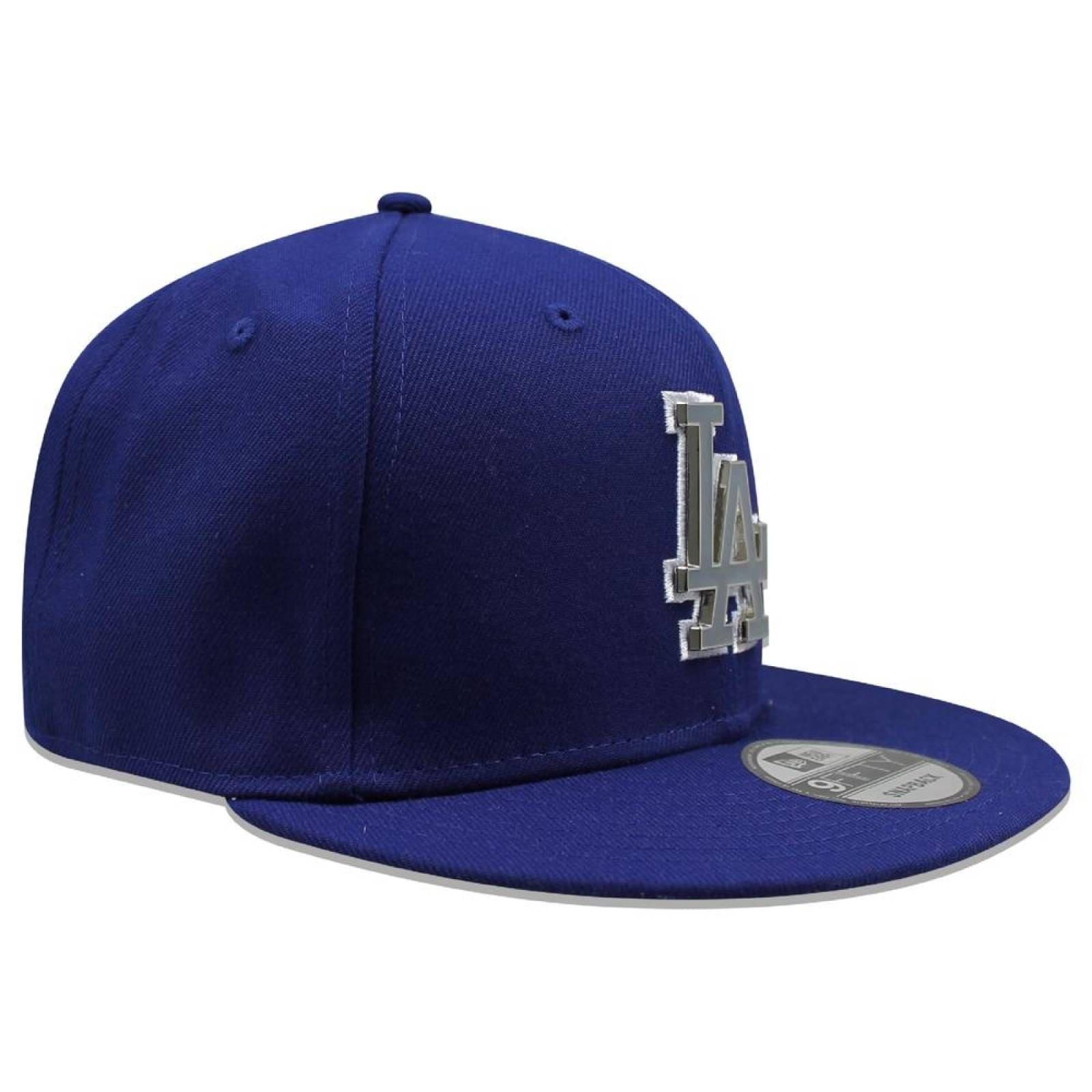Gorra New Era 9 Fifty MLB Dodgers Metal Thread Azul