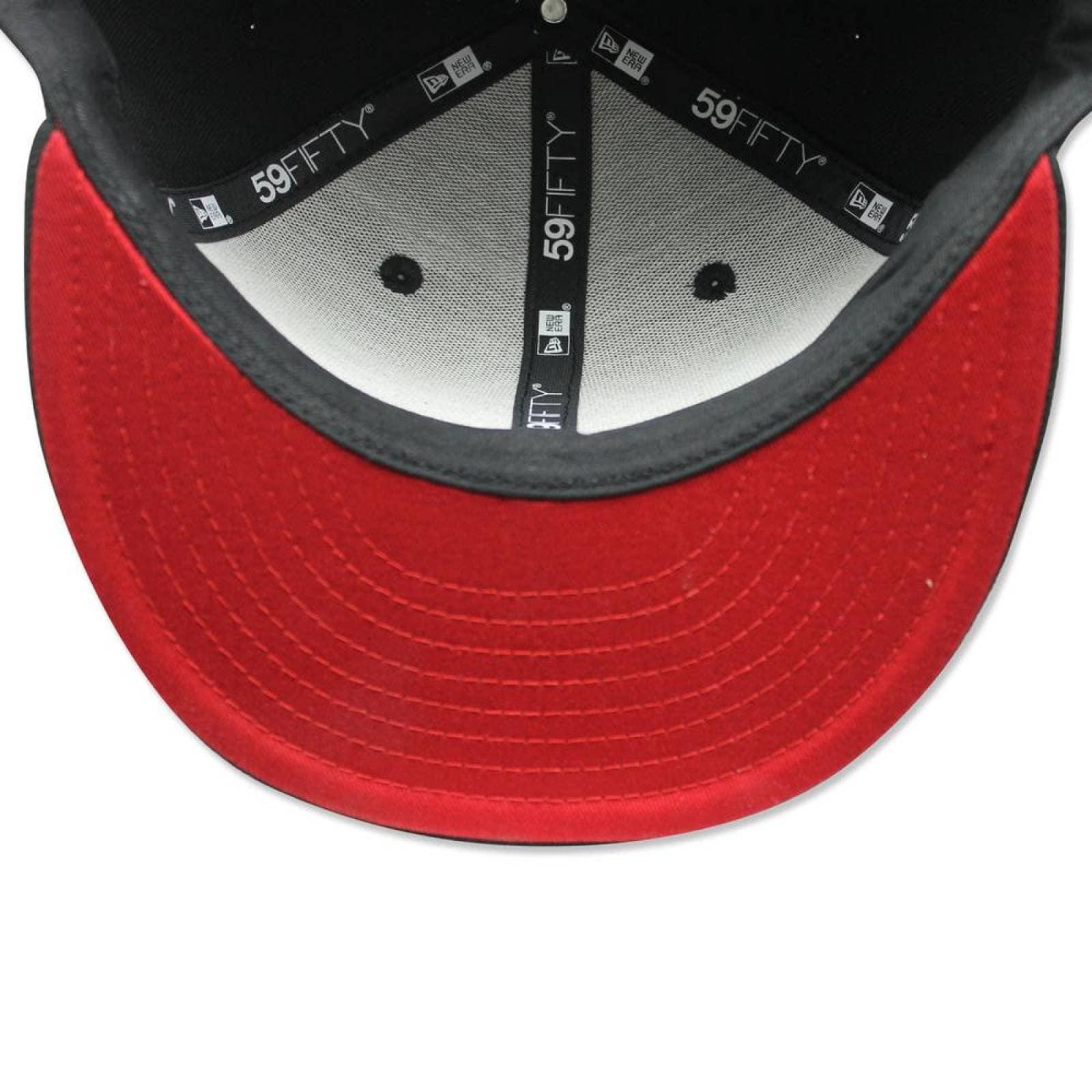 Gorra New Era 5950 LMX Xolos Letter Red Negro