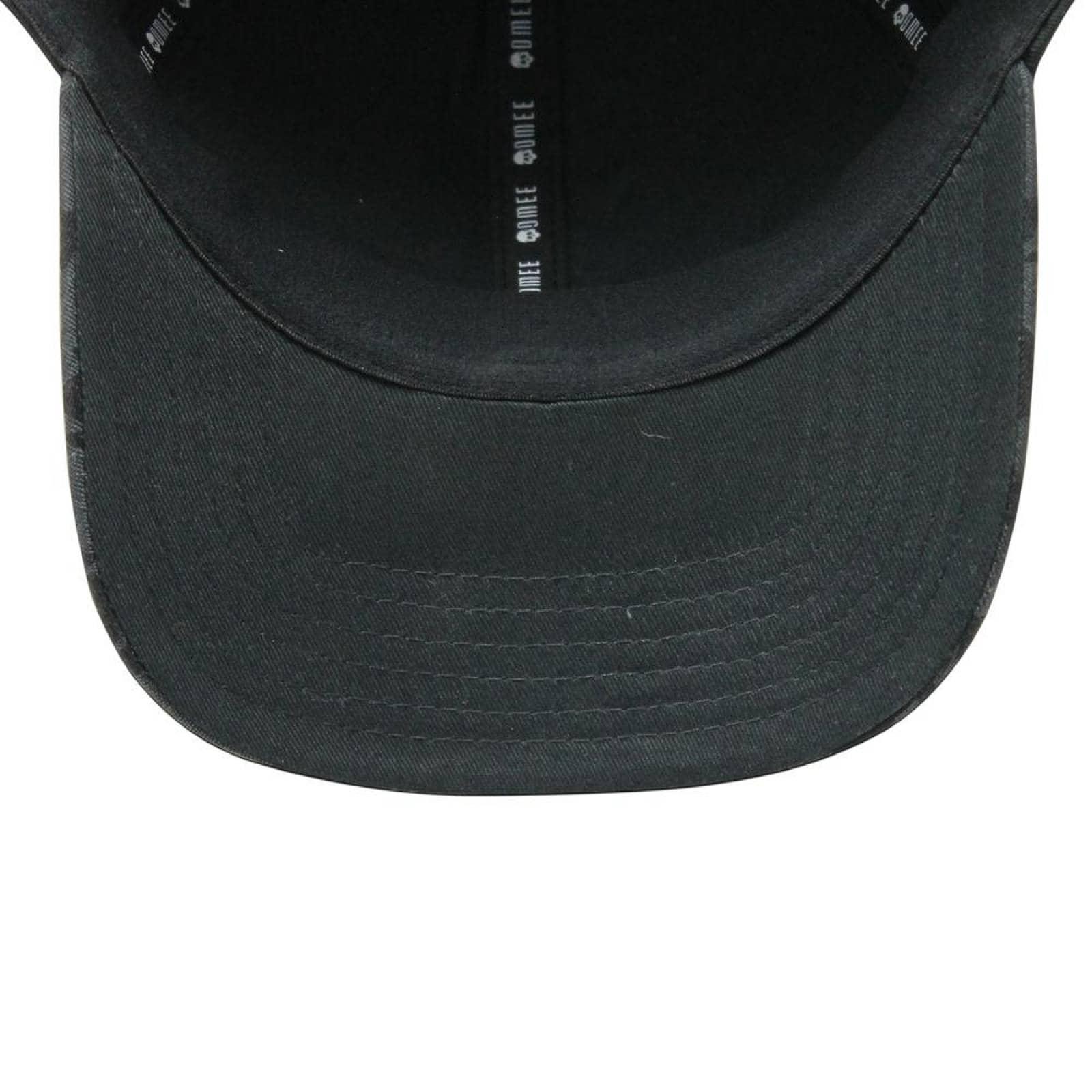 Gorra OMEE Curva Black Camo FlexFit