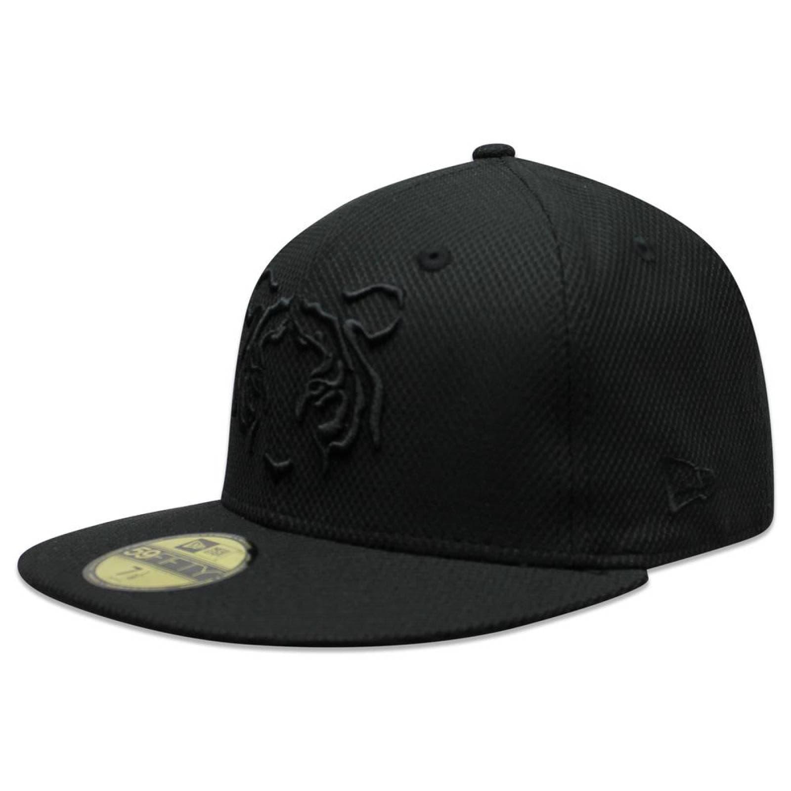 Gorra New Era 59 Fifty LMX Tigres Black On Black