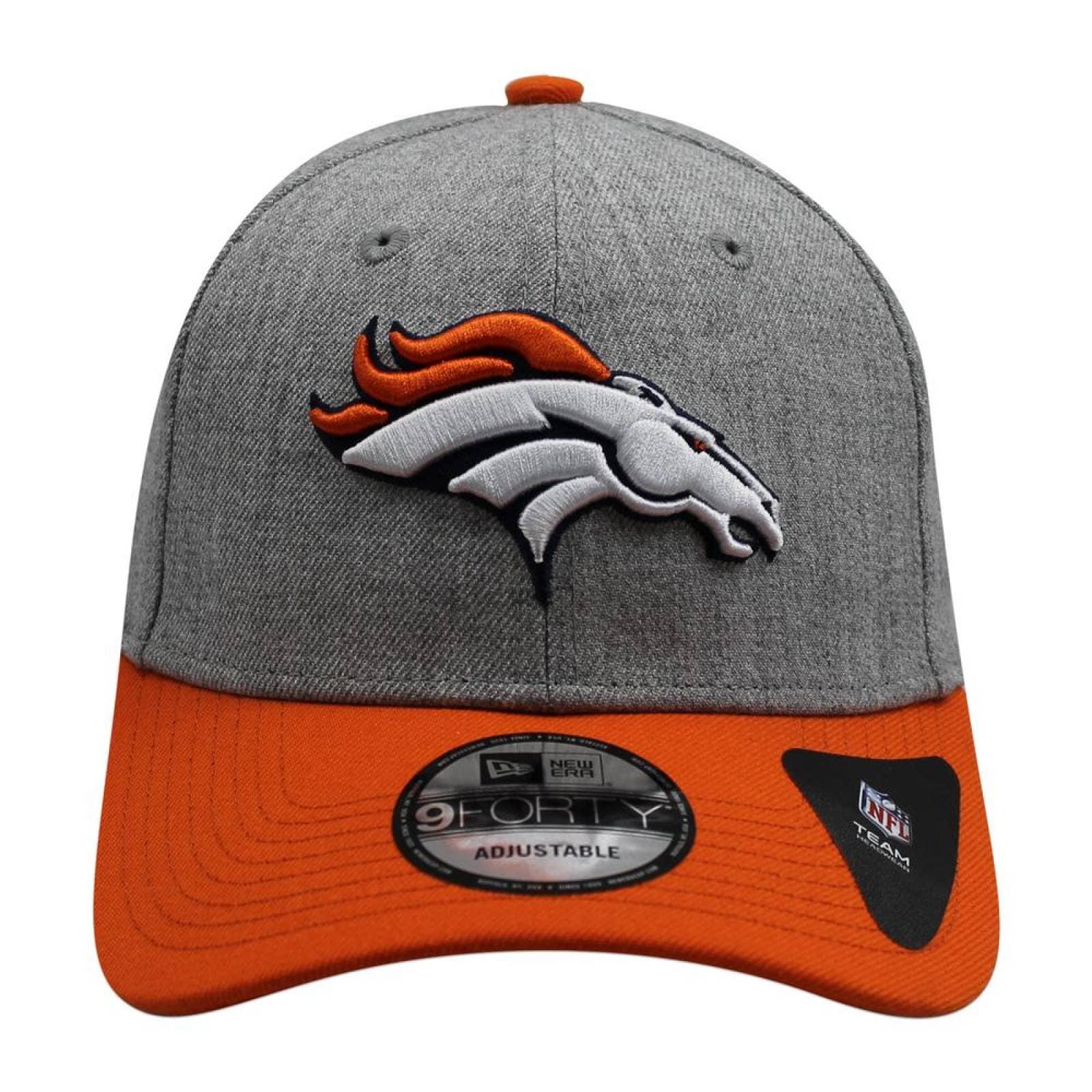 Gorra New Era 9 Forty NFL Broncos The League Gris