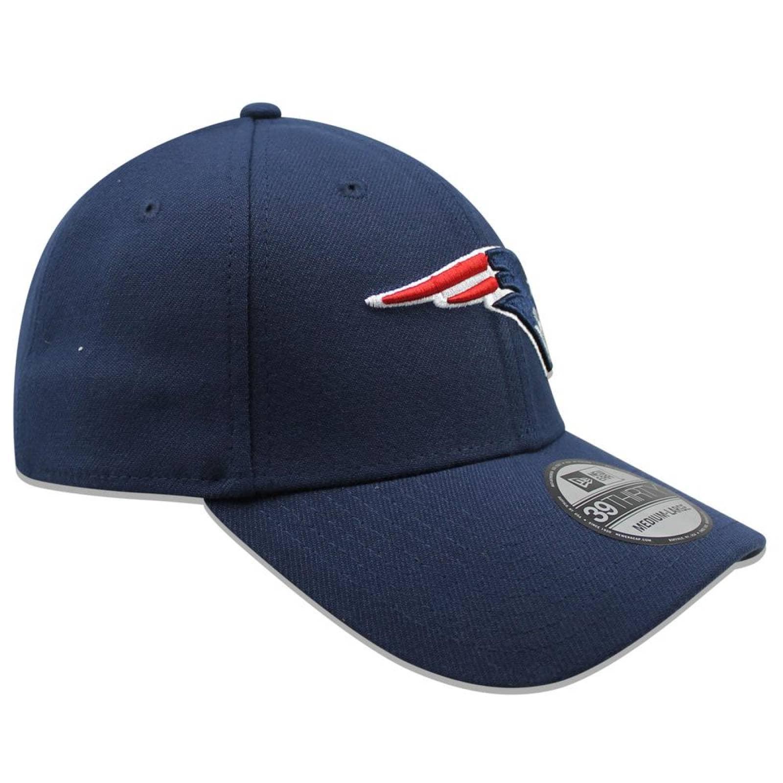 Gorra New Era 39 Thirty NFL Patriots Team Classic Azul Marino