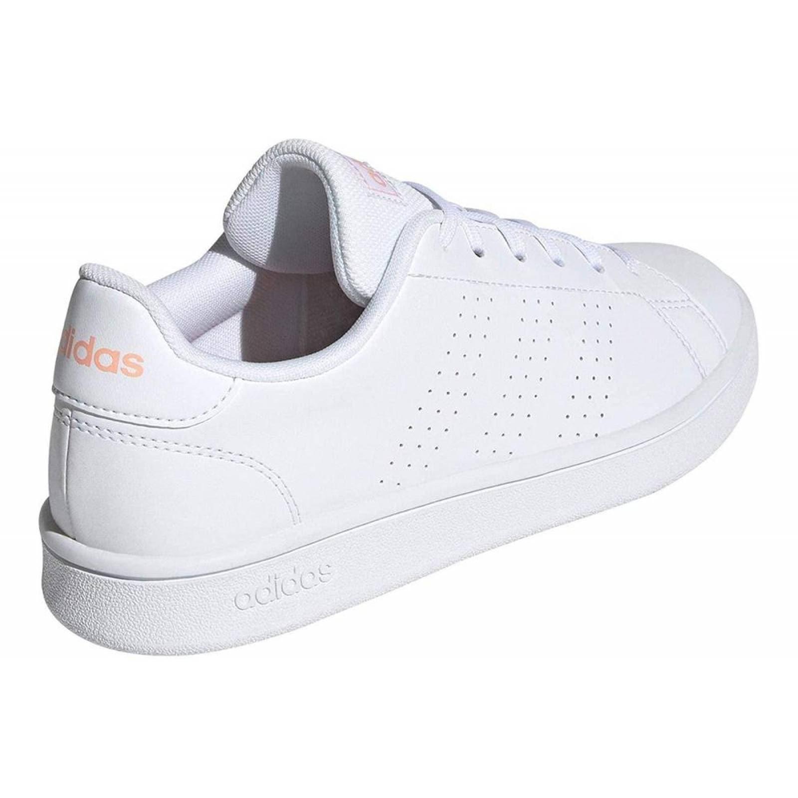 Tenis Adidas Advantage Base EE7510 Blanco Mujer