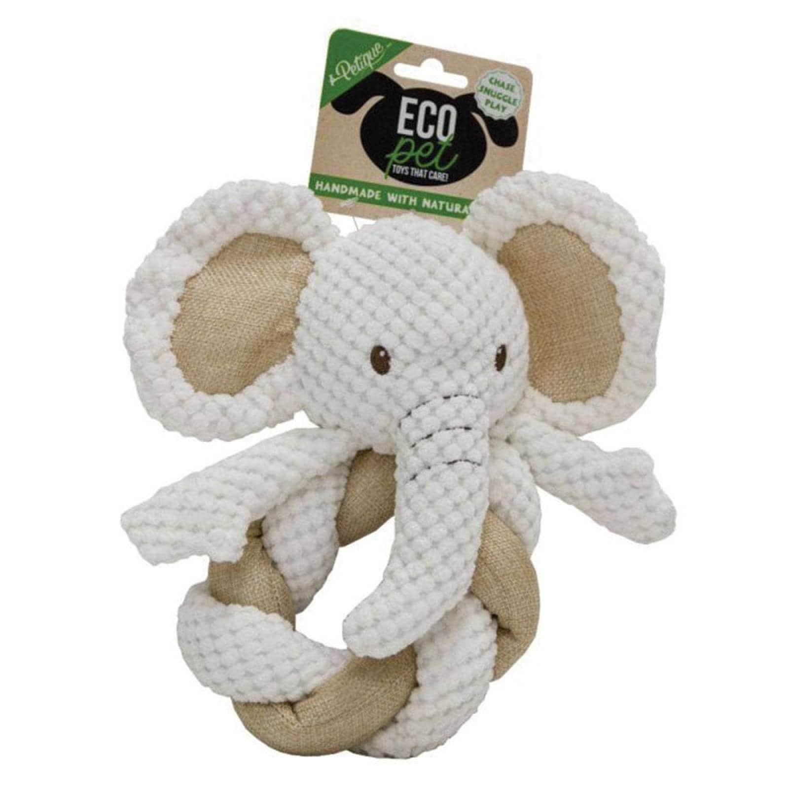 Hemp Elephant Twist Juguete Ecológico para Perro