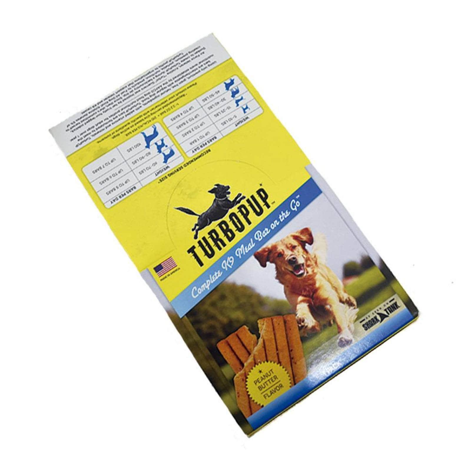 Alimento K9 en Barras Caja de 12 paquetes de 1 barra Crema de Cacahuate