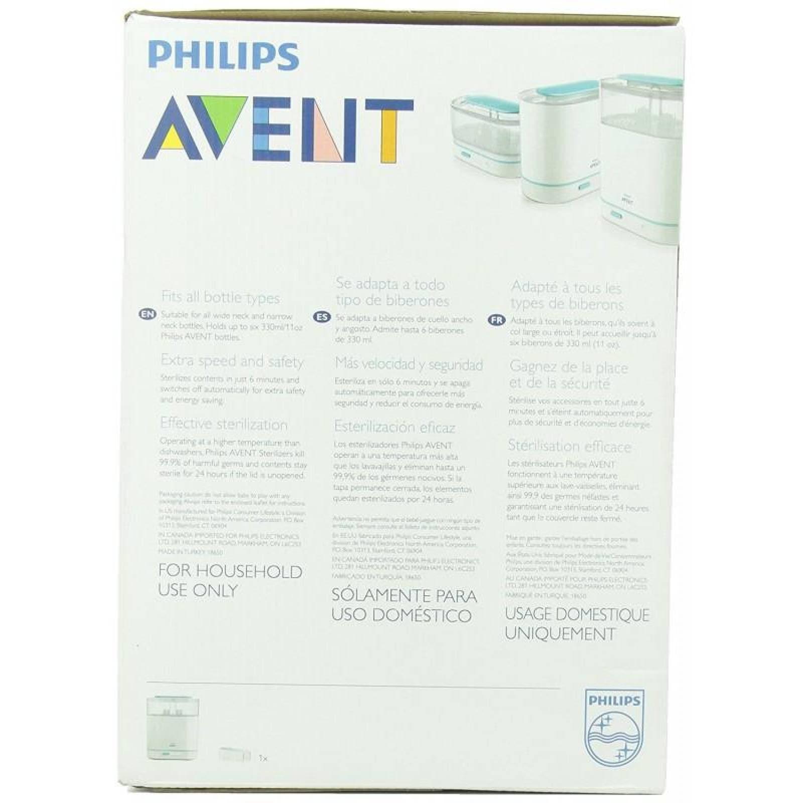 Esterilizador Electrico a vapor 3 en 1 Philips Avent