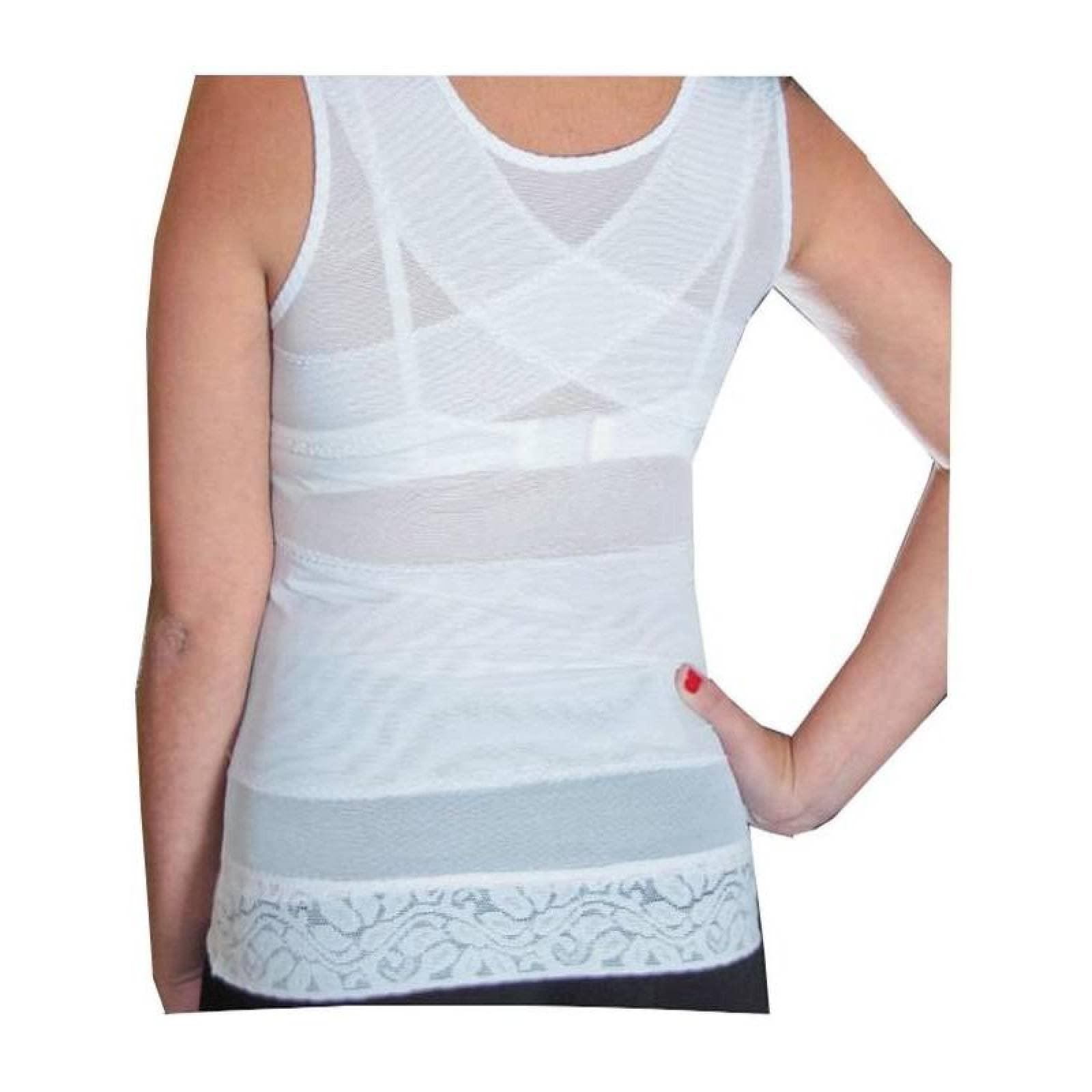Camiseta Modeladora Blanca