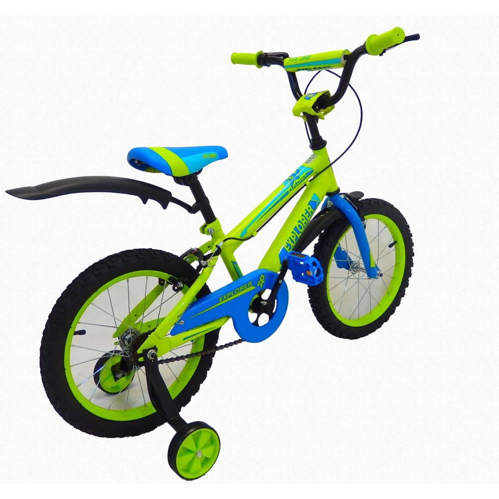 Bicicleta Infantil para niño rodada 16 Explorer Amarillo