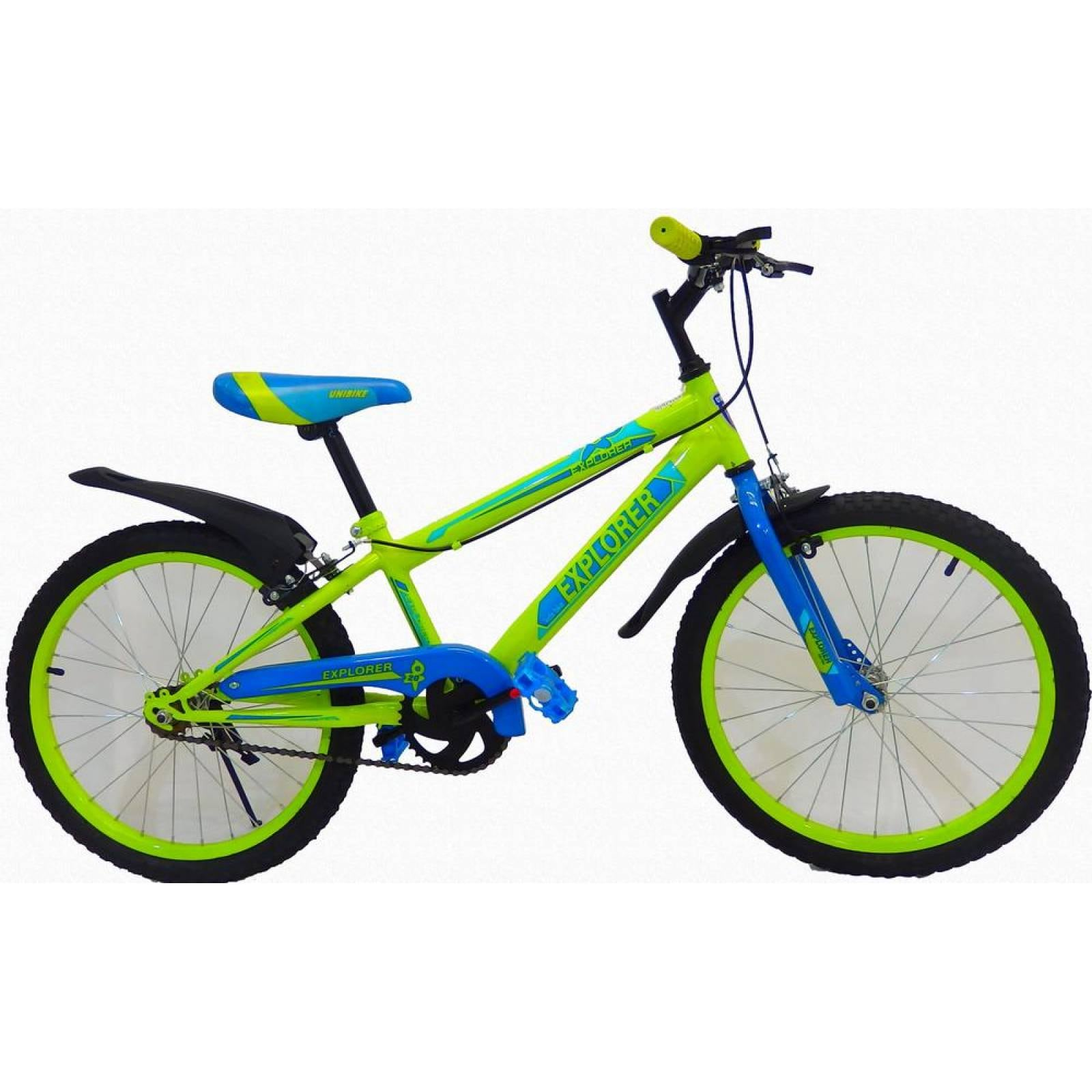 Bicicleta Infantil para niño rodada 20 EXPLOR Amarillo