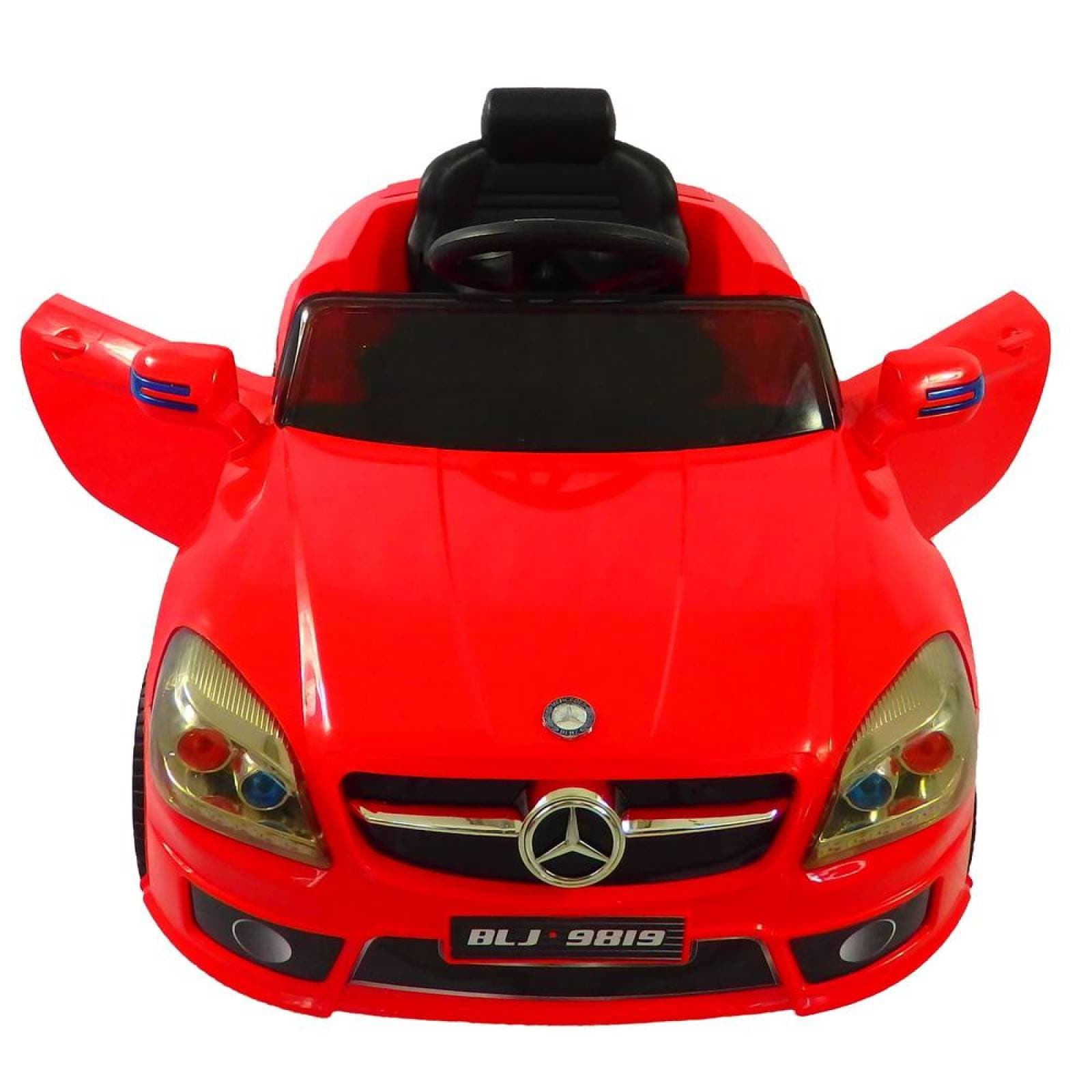 Carro Electrico Montable Con Control Remoto Mercedes Benz Rojo