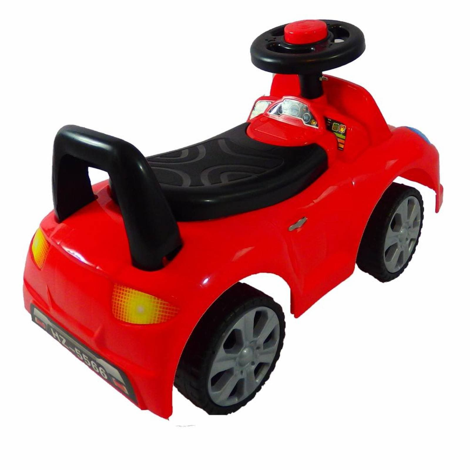 Carro montable correpasillos con luz Rojo