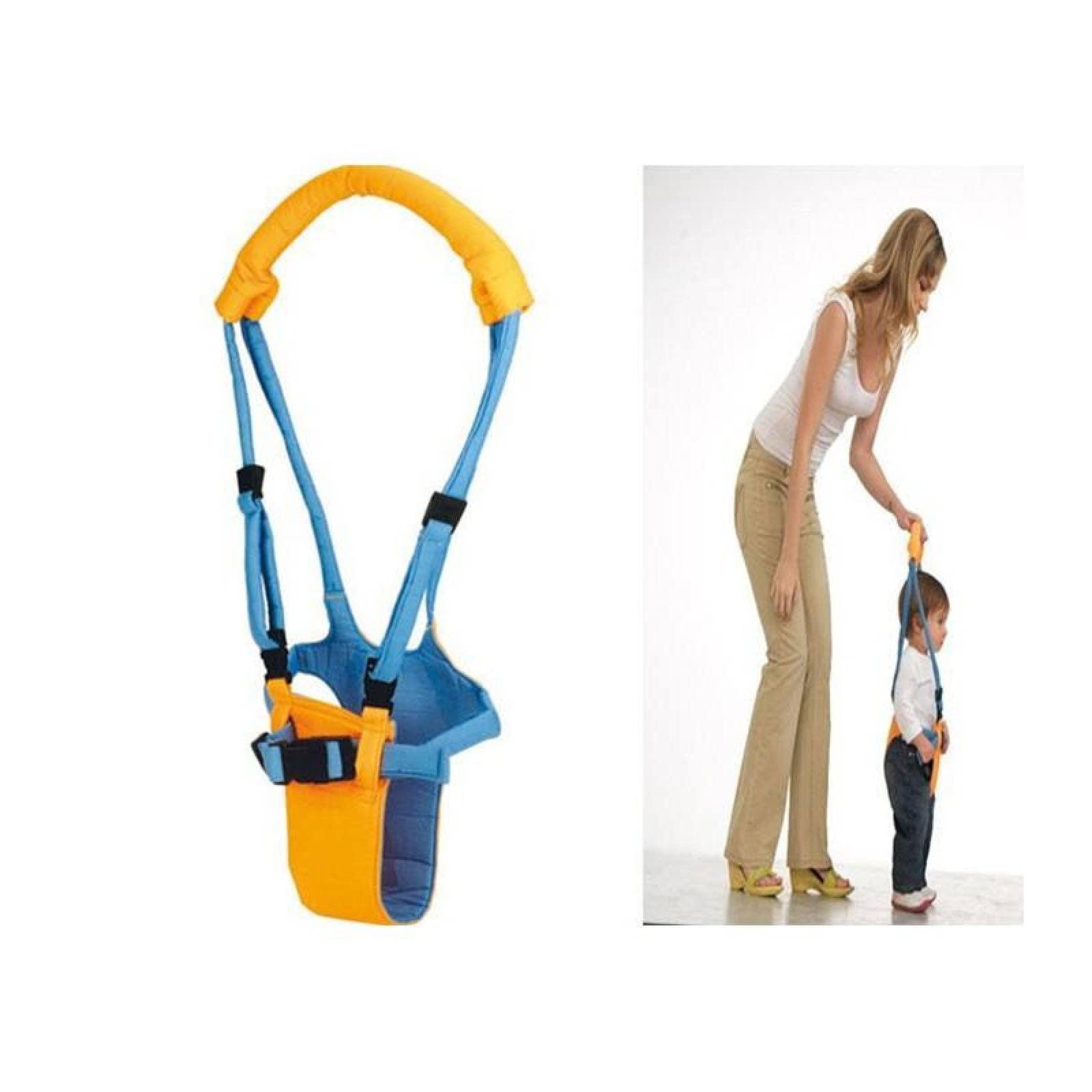Arnés Entrenador Bebé Caminar Andadera Caminador Naranja